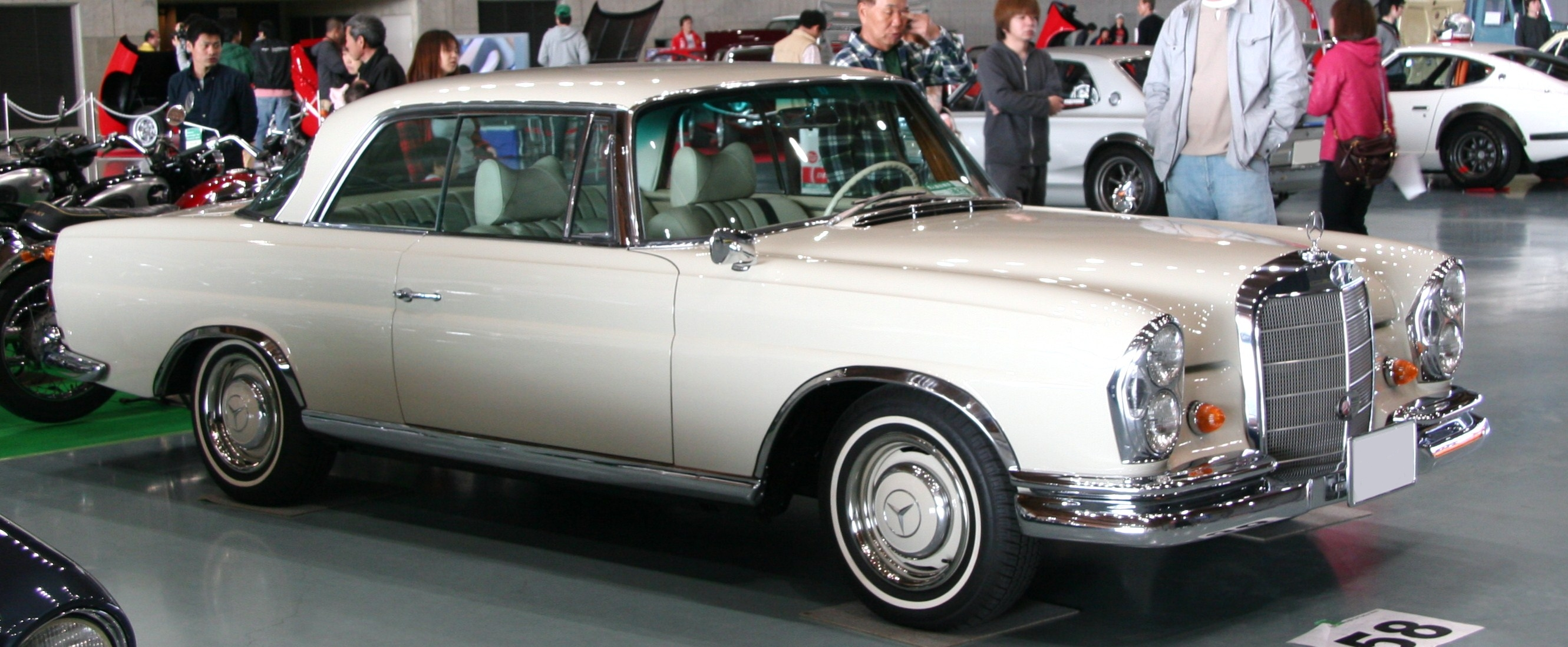 LUCKY US! 1963 Mercedes-Benz 220SE/b W111 Coupe - YouTube |Mercedes Benz W111