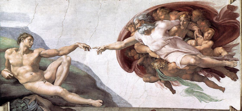 Michelangelo, Creation of Adam 02.jpg