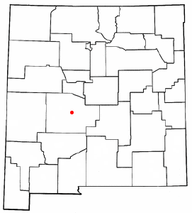 Location of Socorro, New Mexico