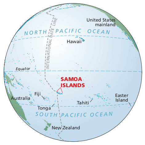 FileNPS Americansamoacontextmapjpg Wikimedia Commons - Map of american samoa