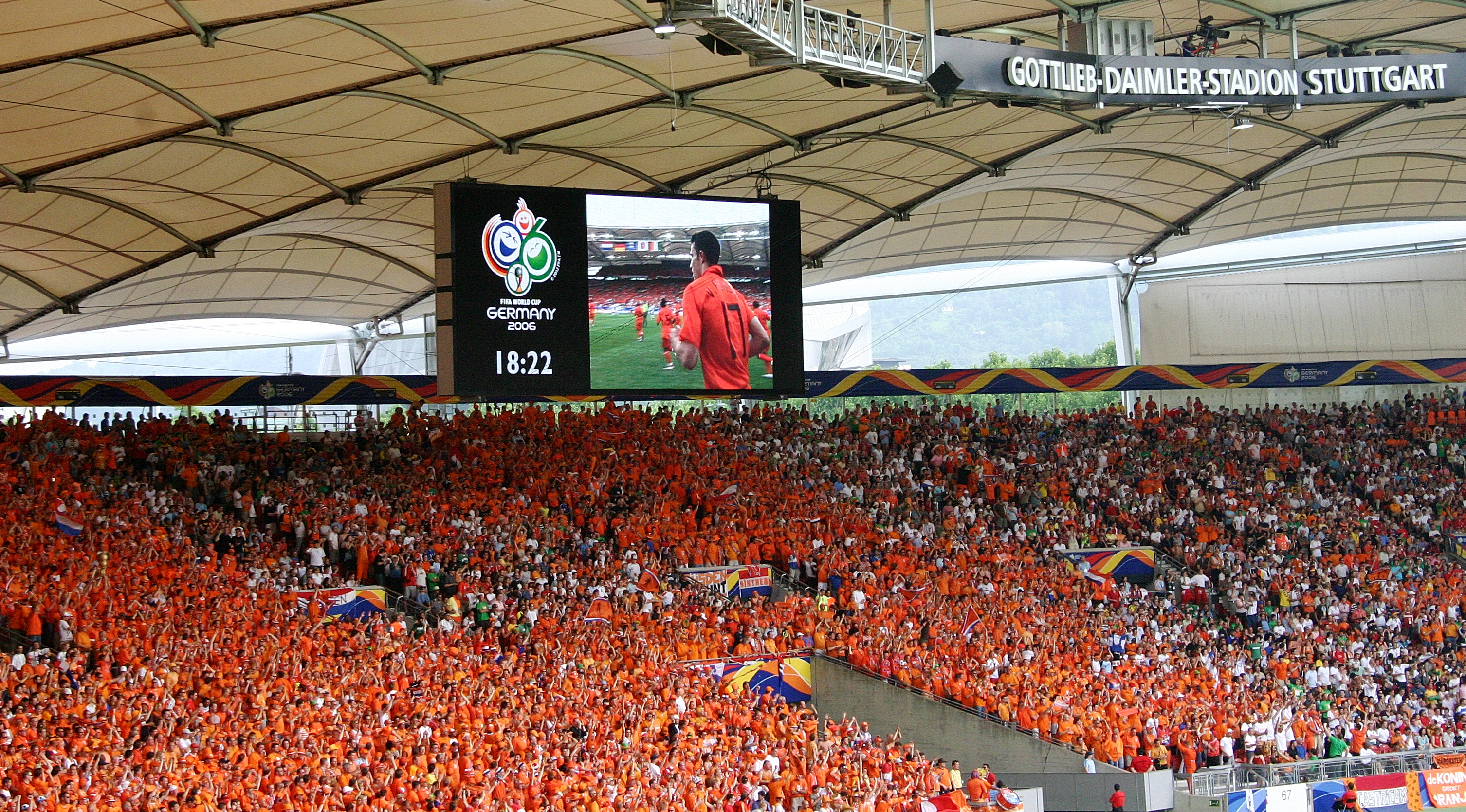 Image result for HOLLAND FANS WORLD CUP