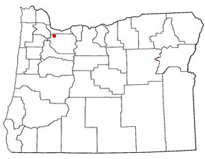 Oatfield, Oregon Census-designated place in Oregon, United States