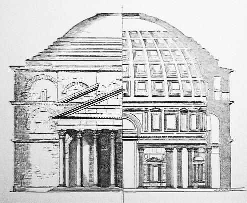 Pantheon Elevation