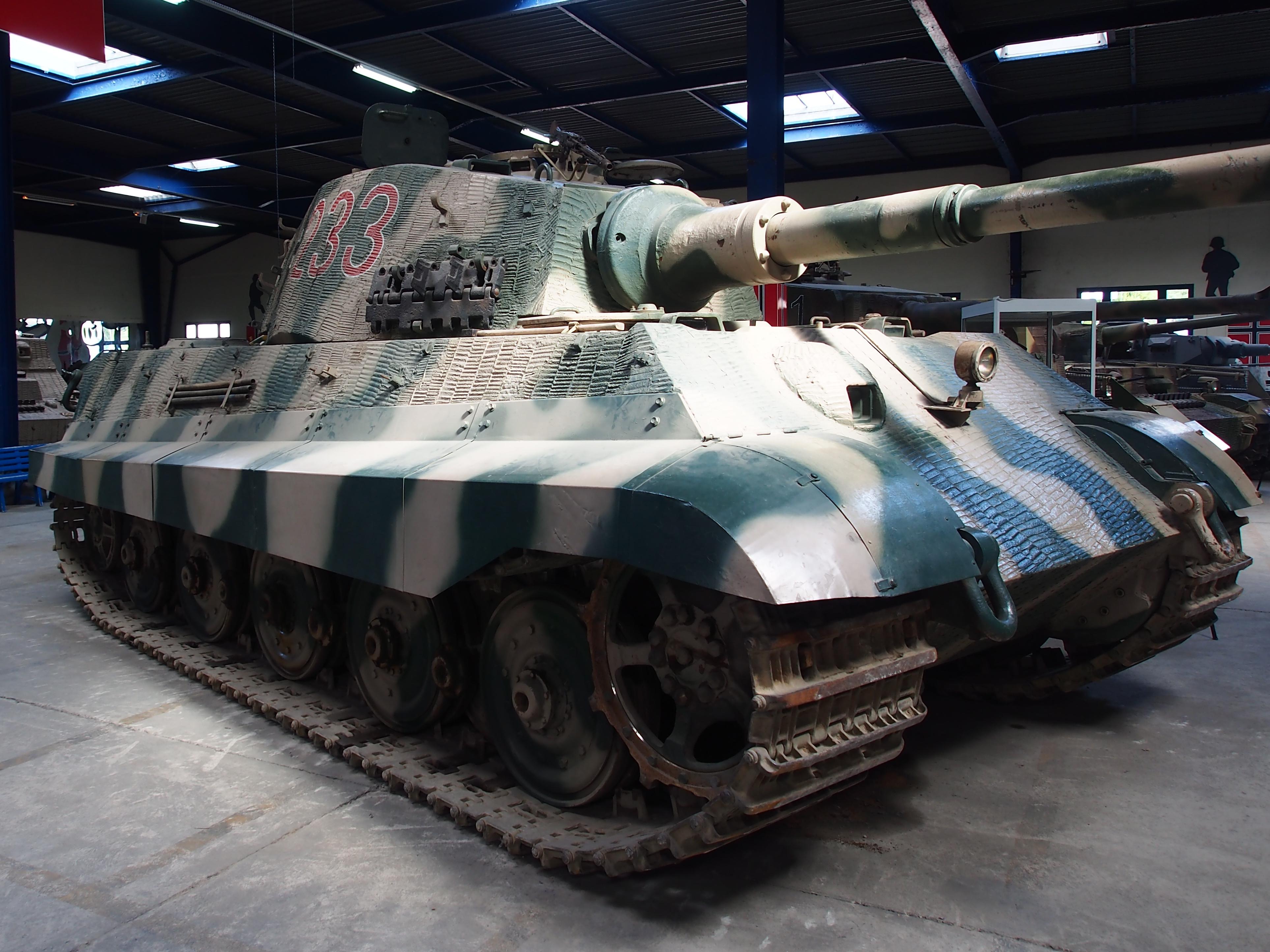 File Panzerkampfwagen Vi Ausf B Tiger Ii Tiger B