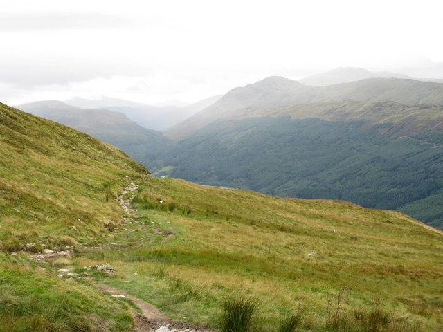 Path up Ben Ledi - geograph.org.uk - 955580