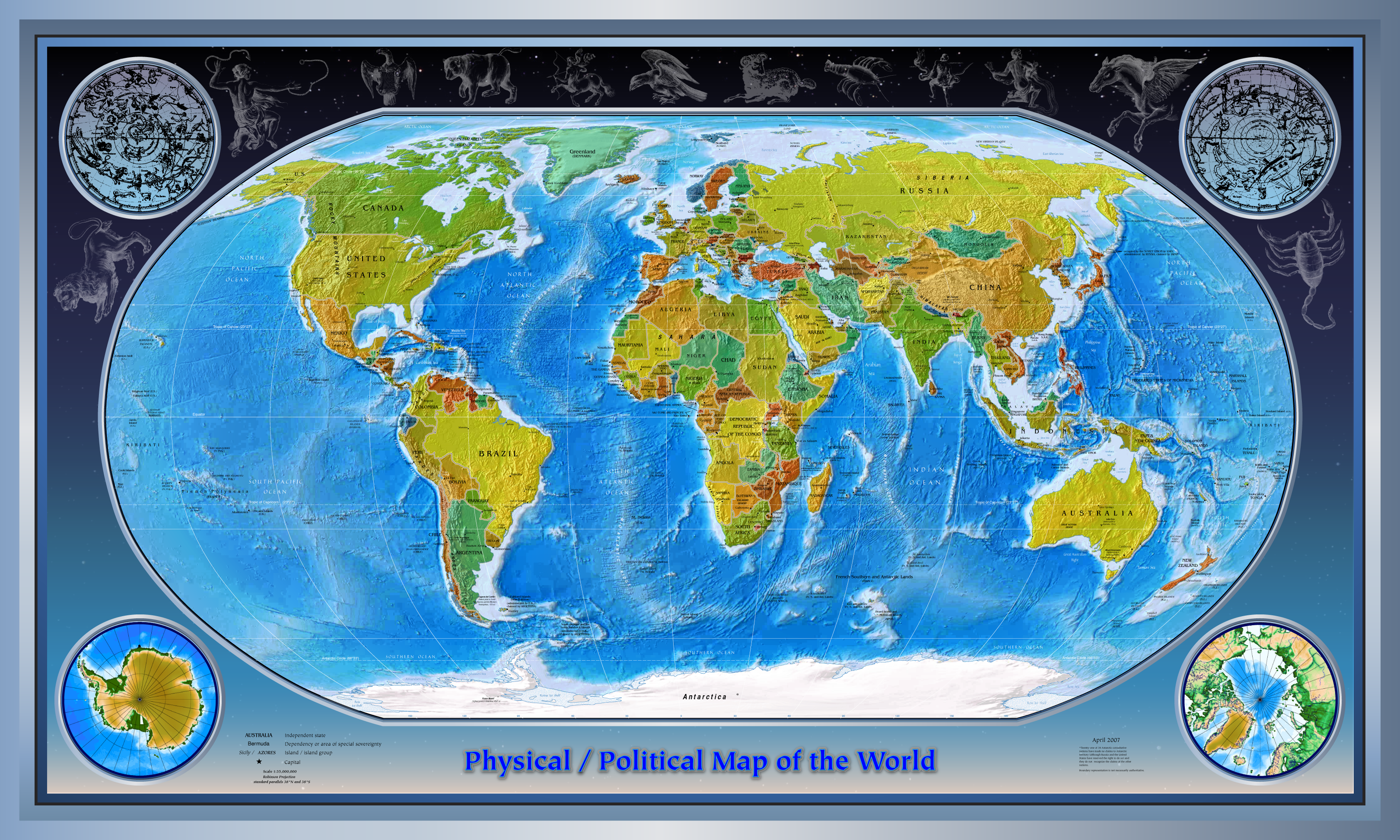 Filephysical political world mapg wikimedia commons filephysical political world mapg gumiabroncs Image collections