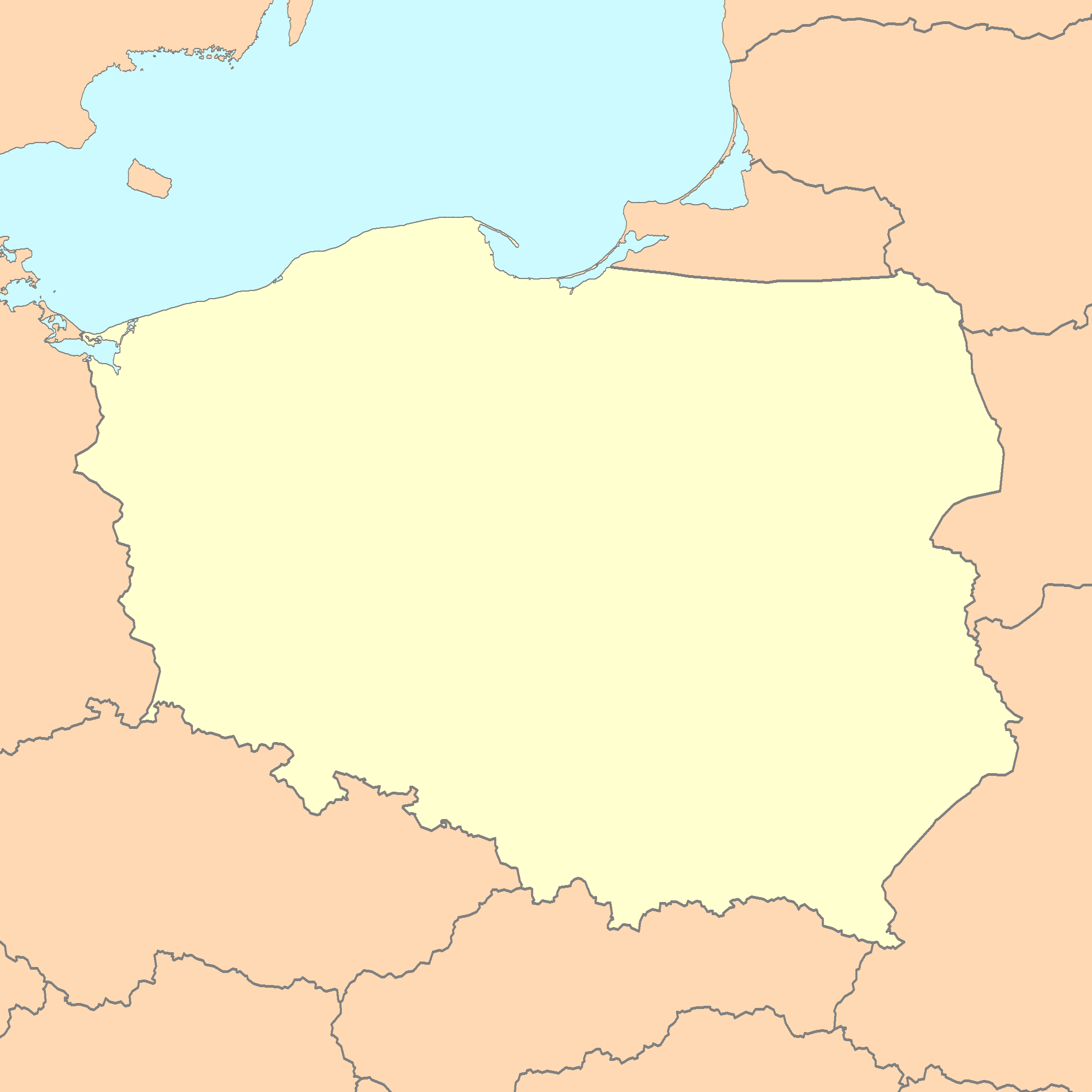 Picture of: File Poland Map Blank Png Wikimedia Commons