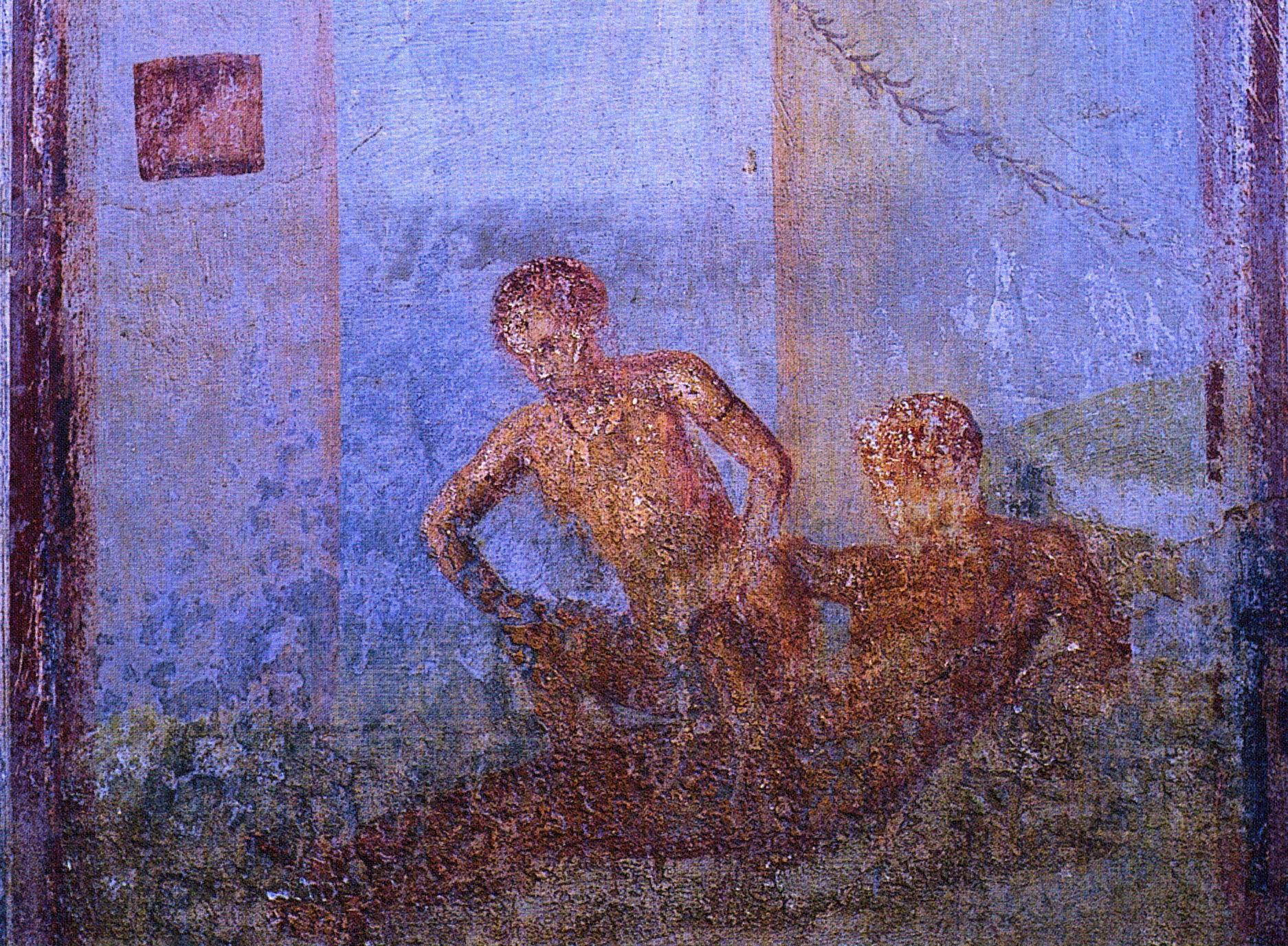 Pompeii, The Two Maidens, And Thousands Of Years Of Precarious Masculinity