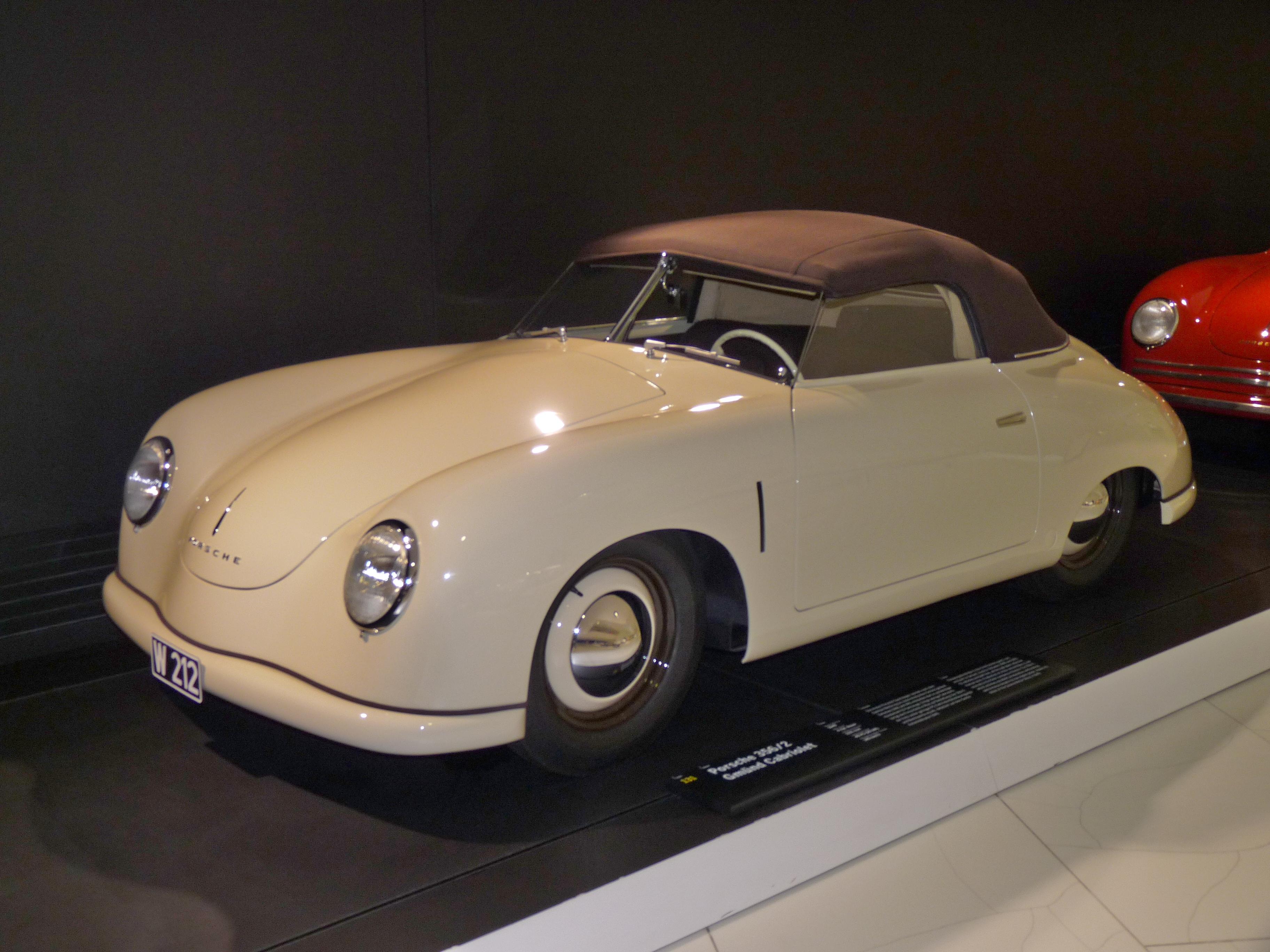 File Porsche 356 2 Gmuend Cabriolet 1949 Frontleft 2010 03