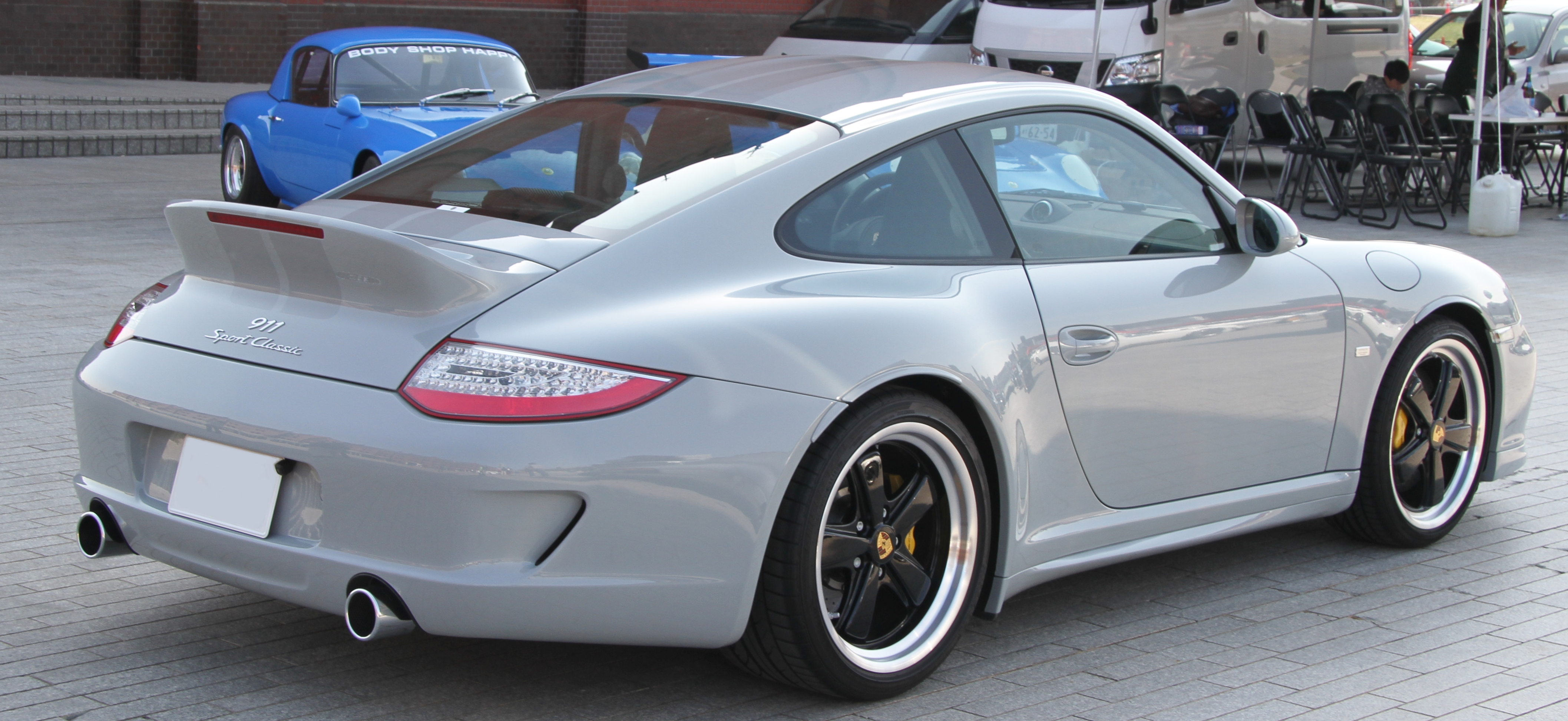 File Porsche 997 Sport Classic Rear Jpg Wikimedia Commons