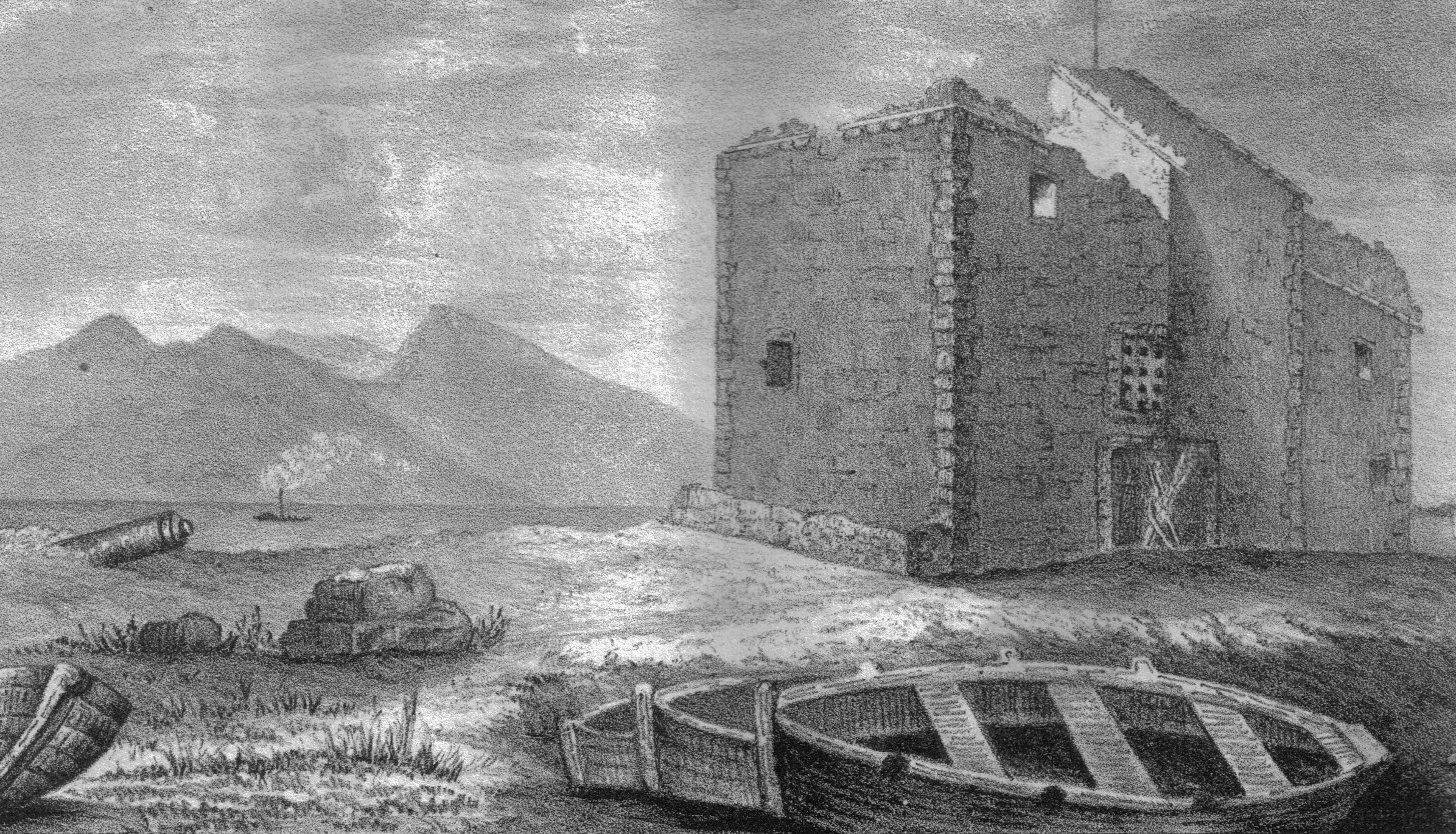 fileportencross castle clyde 1840sjpg wikipedia