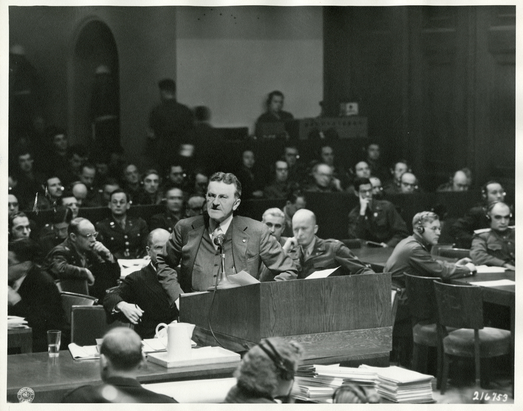 file prosecutor ralph albrecht addresses nuremberg trials 1945 file prosecutor ralph albrecht addresses nuremberg trials 1945 jpeg