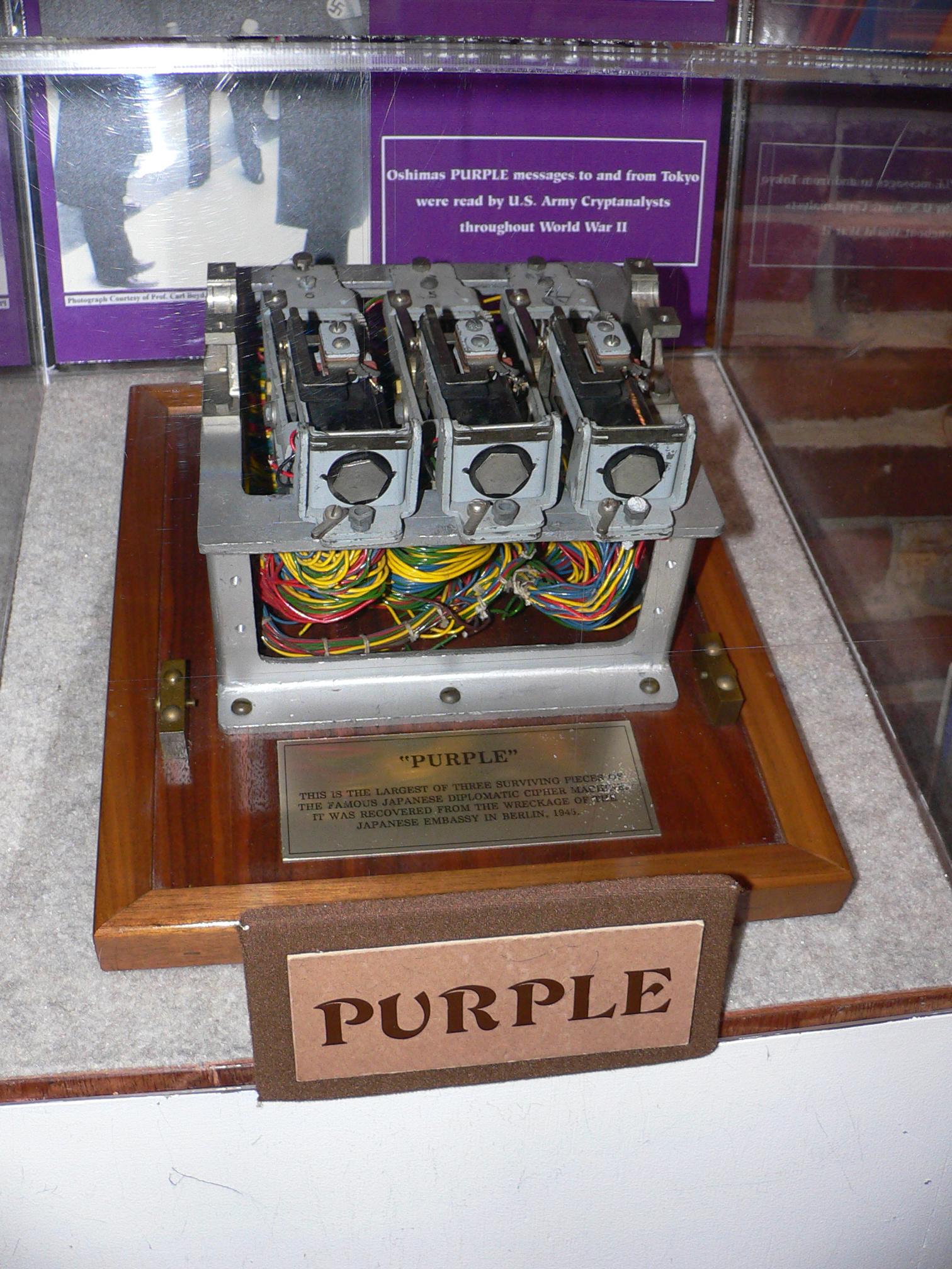 purple machine