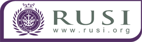RUSI, the Royal United Services Institute for Defence and Security Studies logo.png