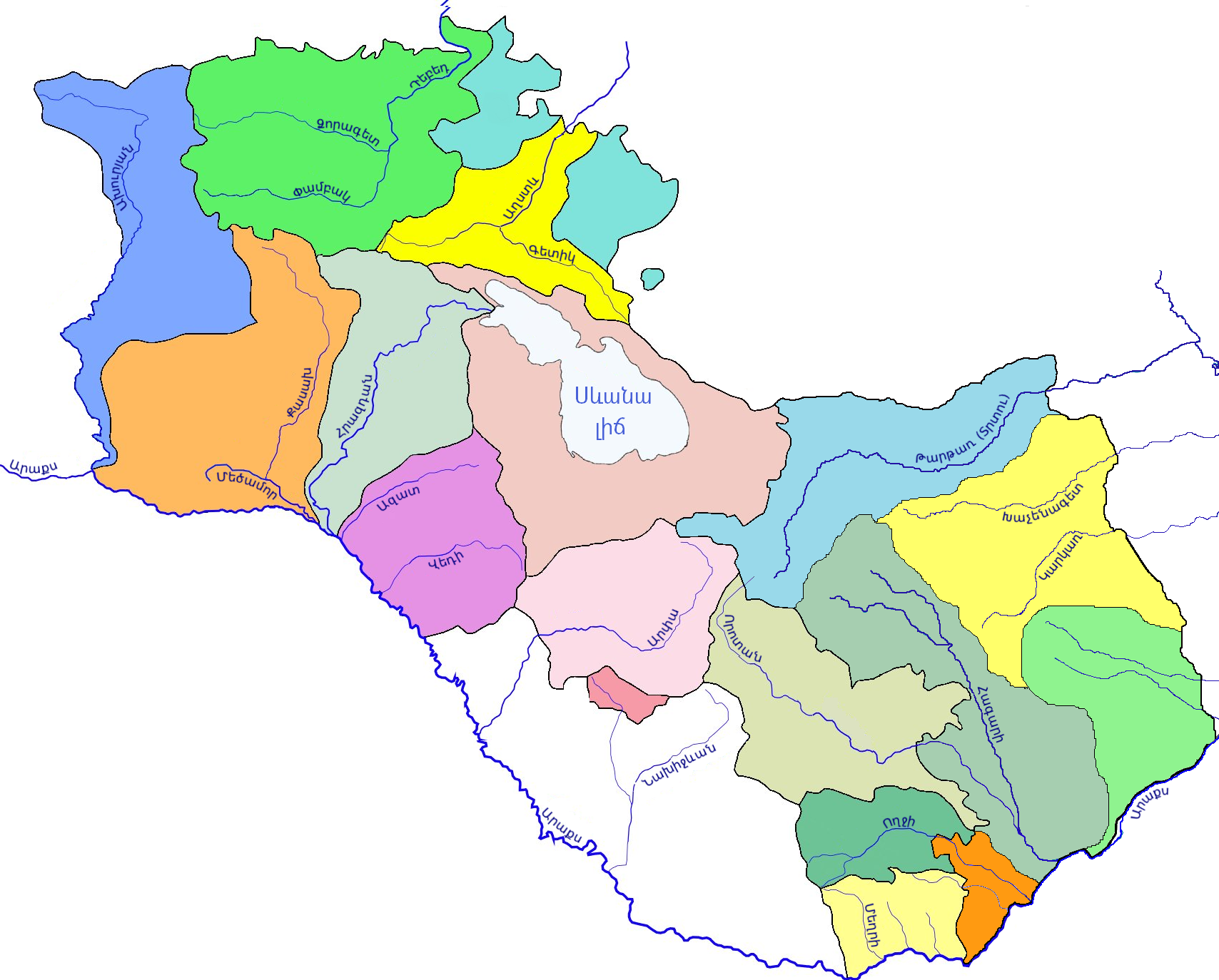 "Картинки по запросу ""ՀՀ գետերը քարտեզ"""""