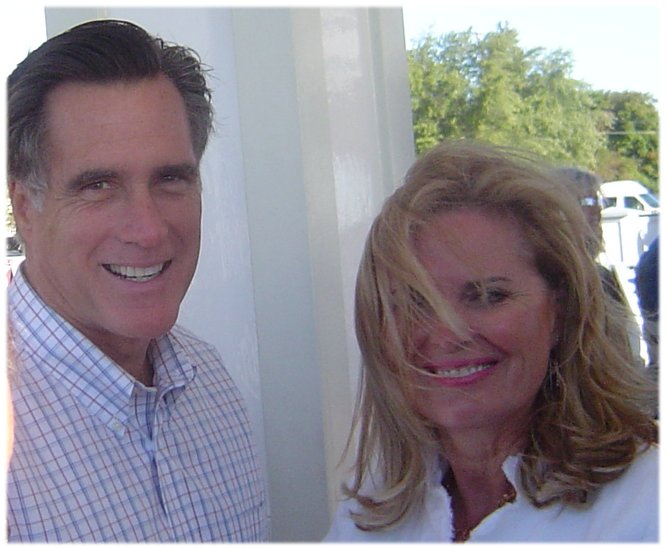 Romneys in 2007 at Republican Convention on Mackinac Island