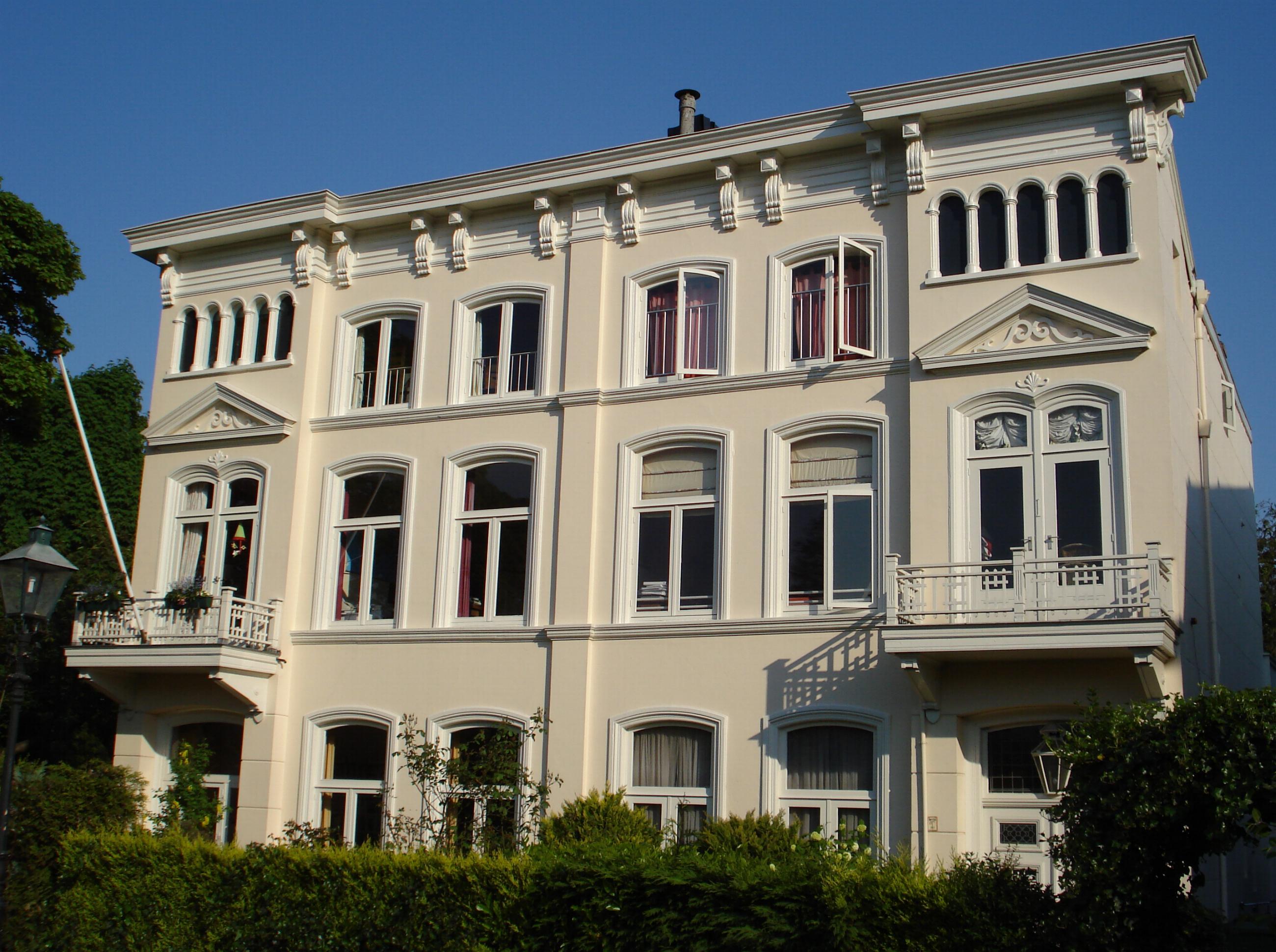 Geheel vrijstaand dubbel woonhuis in rotterdam monument for Woonhuis rotterdam