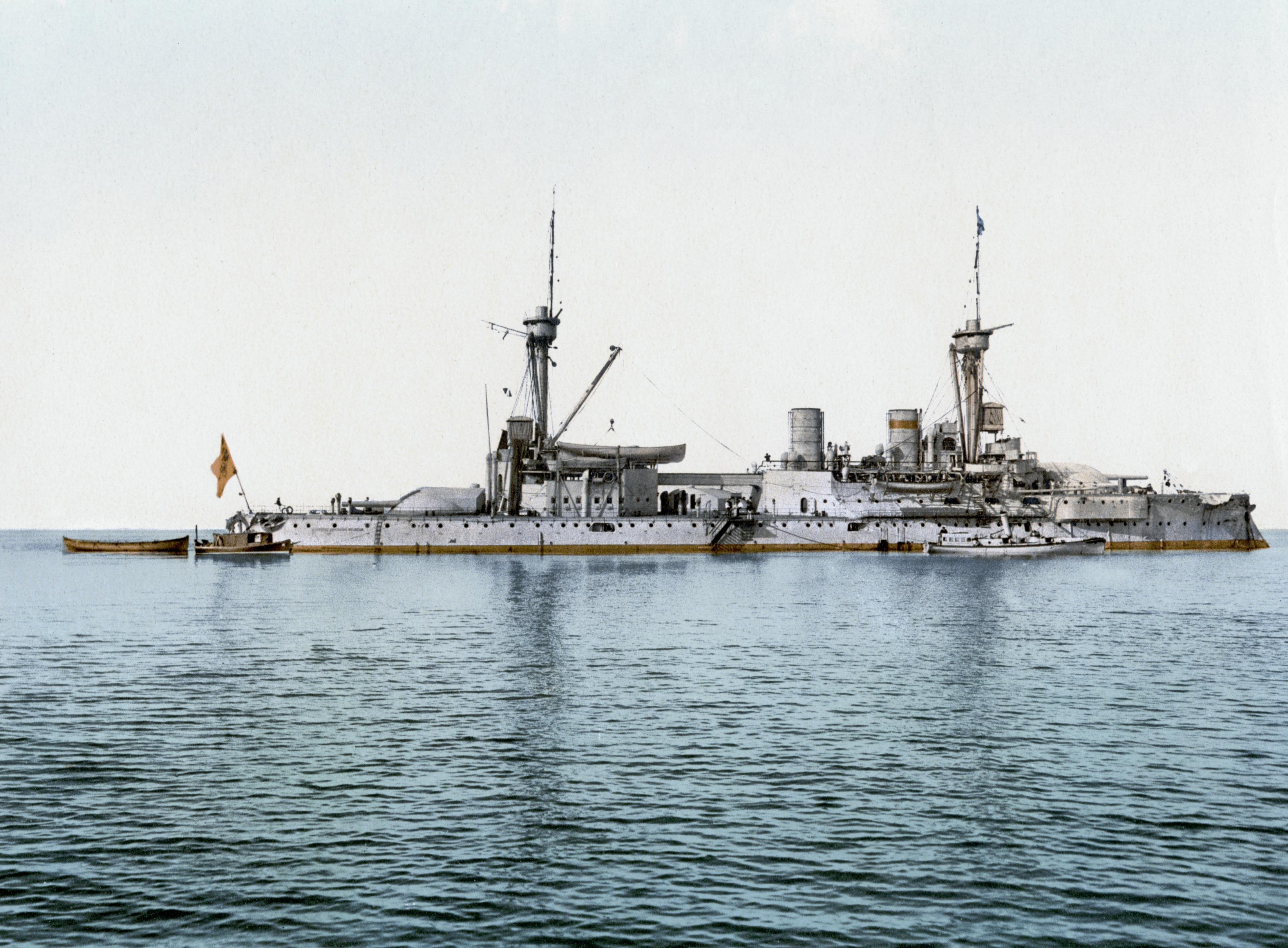 Brandenburg-class battleship - Wikipedia