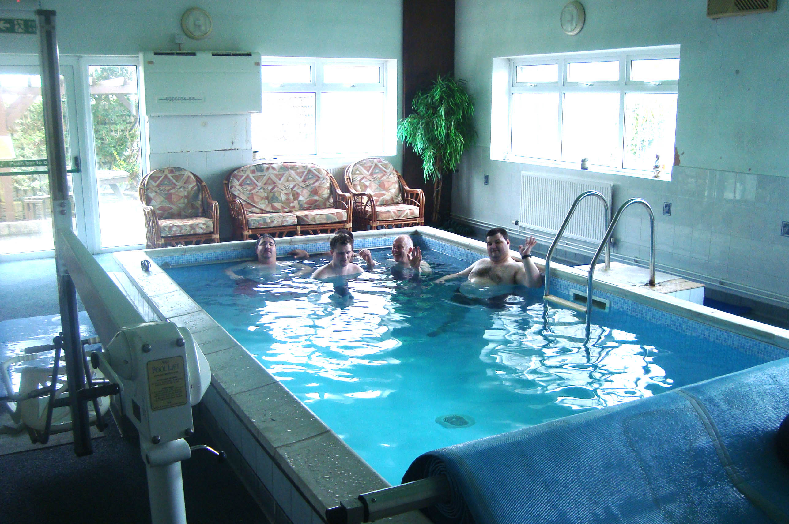 Hydrotherapy whirlpool baths for Hydroponic pool