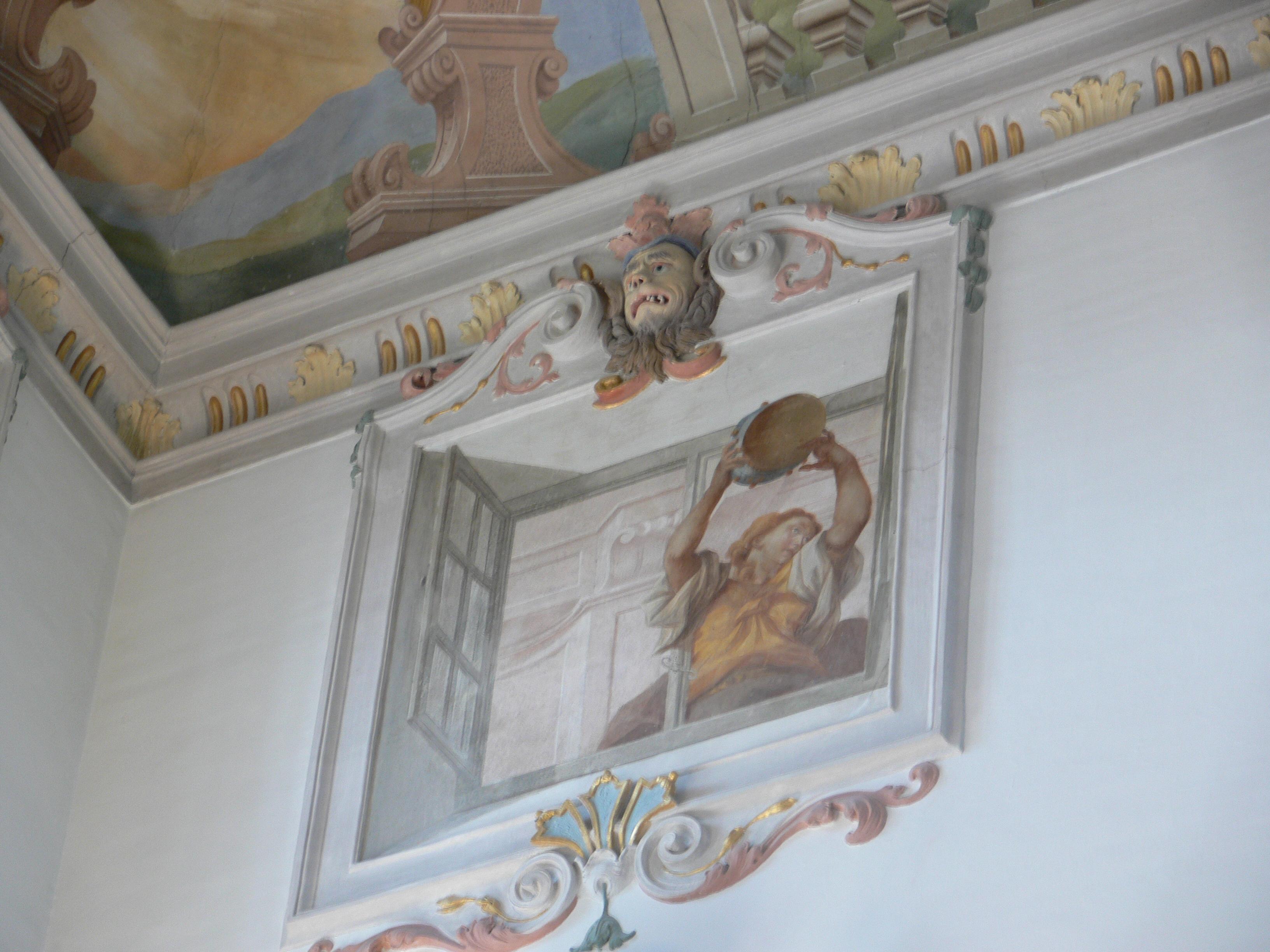 Fenster Bad Wurzach : Descrizione Schloss Wurzach Treppenhaus Fenster Trompeloeil 2jpg