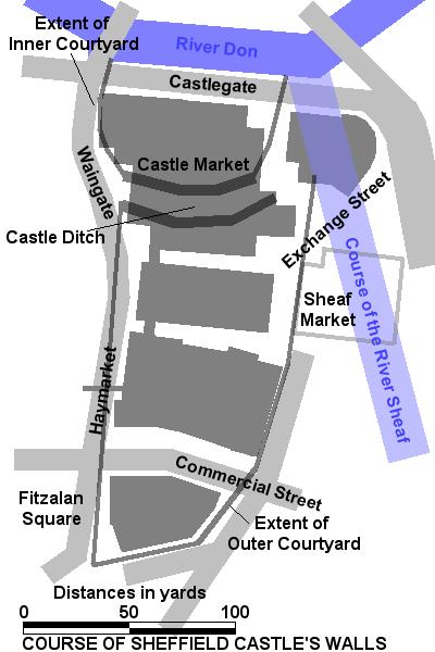 sheffield castle wikipedia. Black Bedroom Furniture Sets. Home Design Ideas