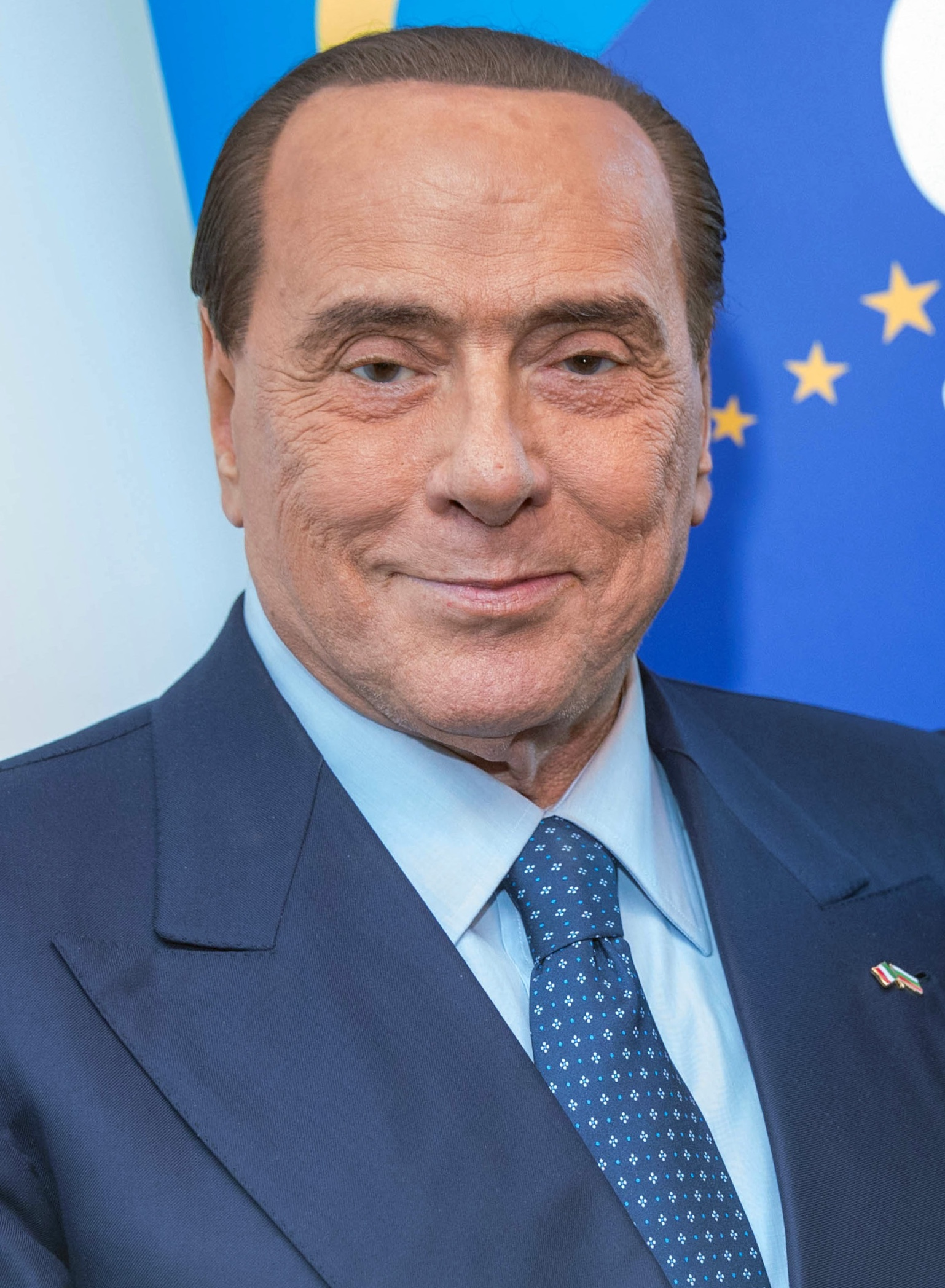 The 84-year old son of father Luigi Berlusconi  and mother Rosa Bossi Silvio Berlusconi in 2020 photo. Silvio Berlusconi earned a  million dollar salary - leaving the net worth at 850 million in 2020