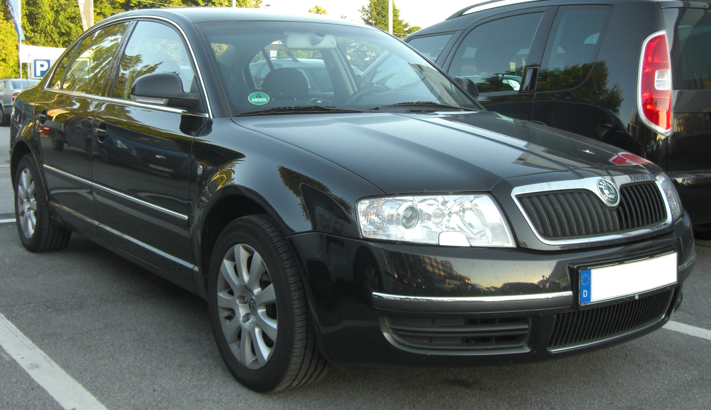 File Skoda Superb Facelift Front Jpg