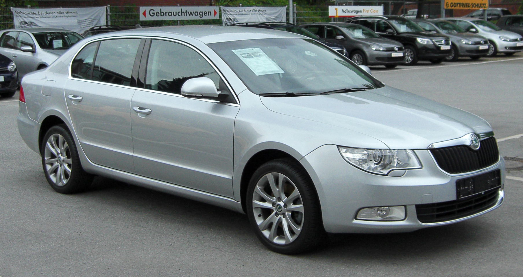 File Skoda Superb Ii Front 20100515 Jpg