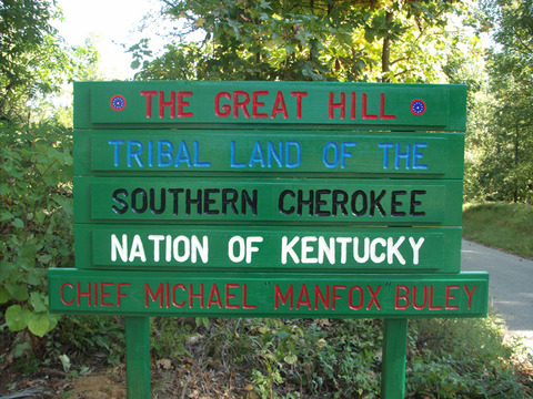 File:Southern Cherokee Nation of Kentucky Tribal Sign jpg