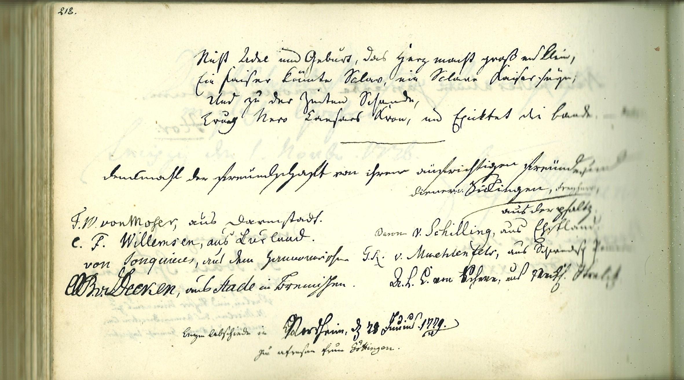 Stammbuch CL Kämpe 28th june 1779.jpg