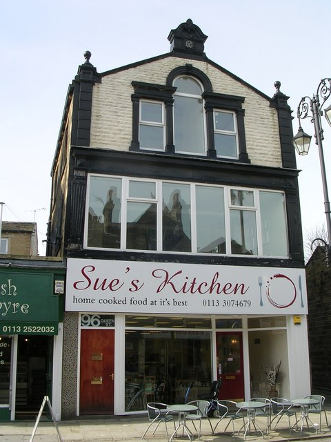 File Sue S Kitchen Queen Street Geograph Org Uk
