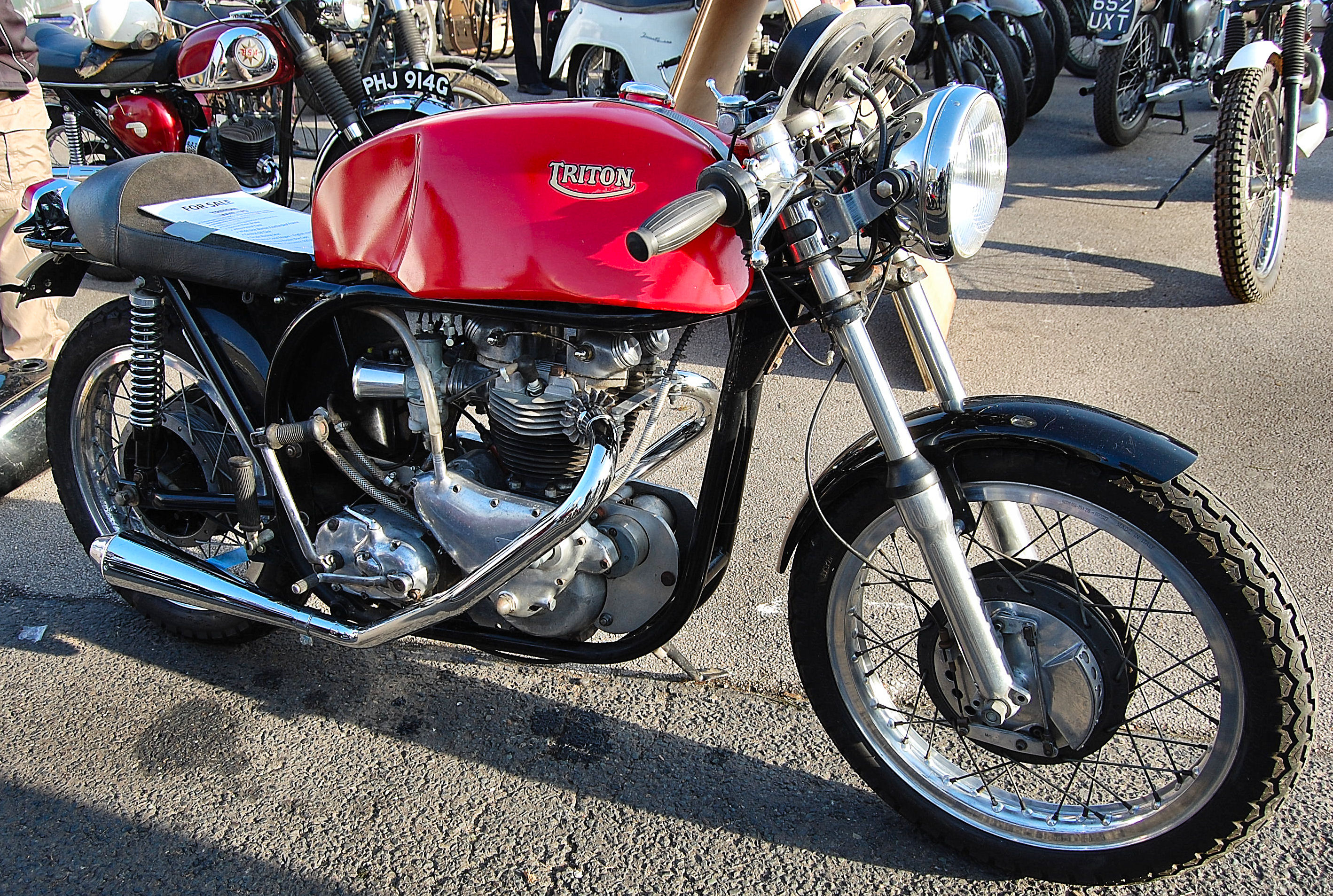 Cafe Racer Motorbikes Uk