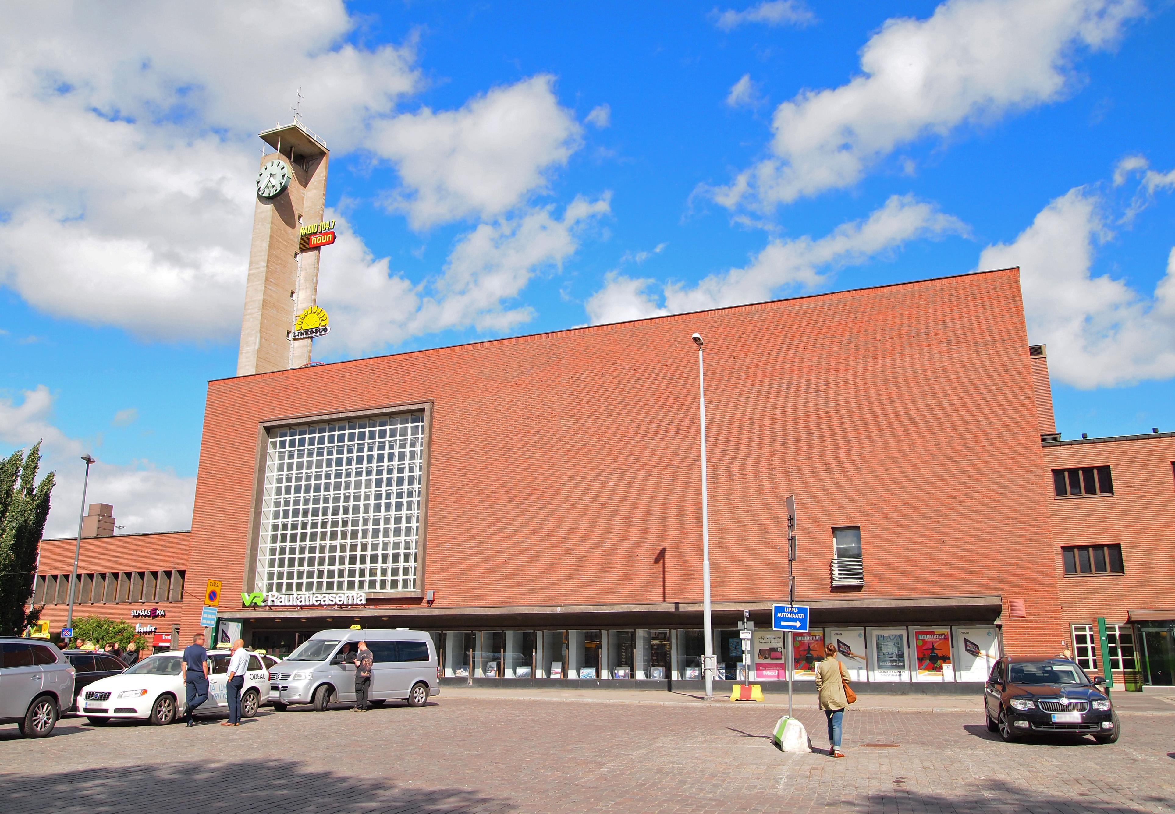 Rautatieasema Tampere Pysäköinti