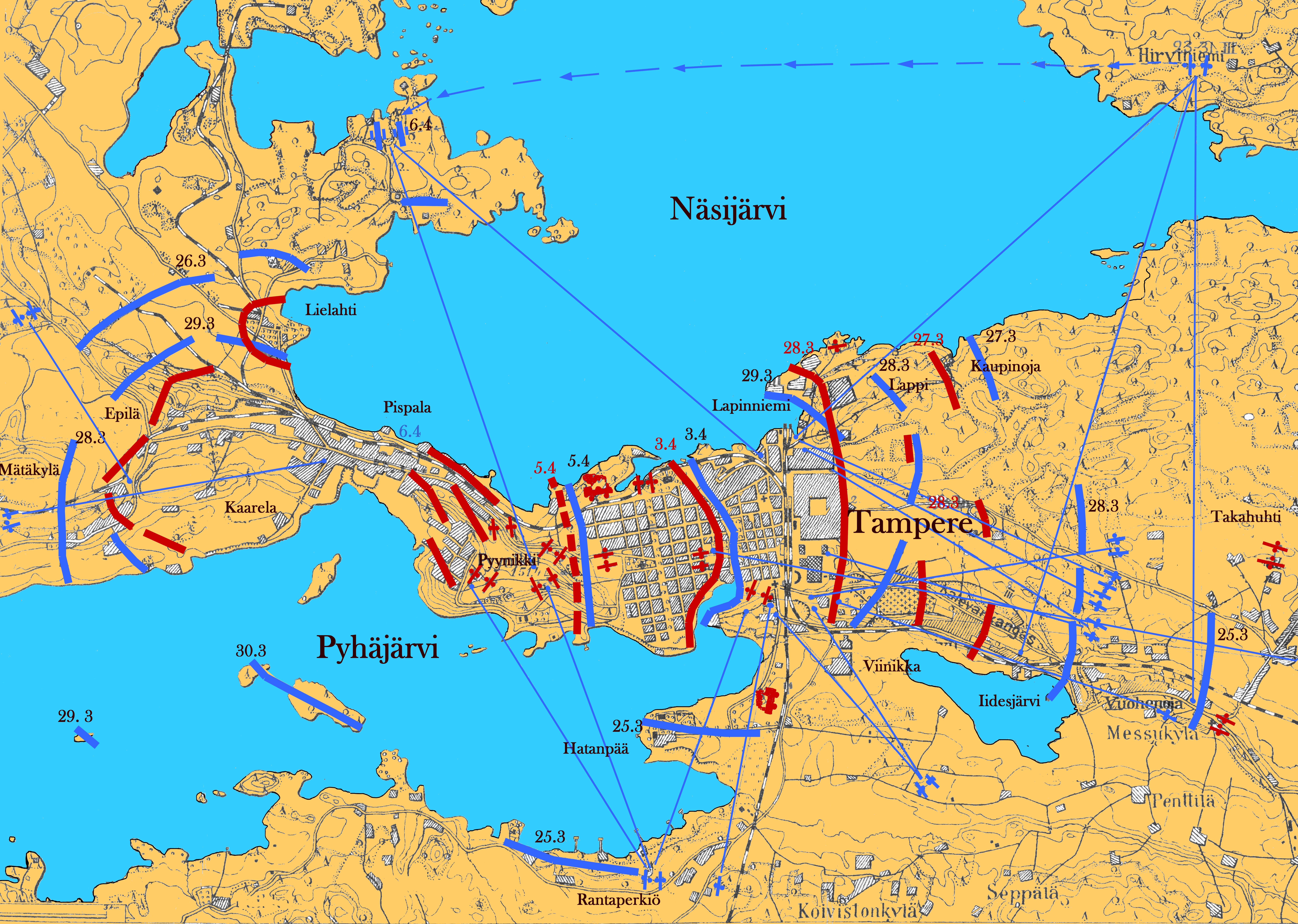 File Tampereen Taistelu Jpg Wikimedia Commons