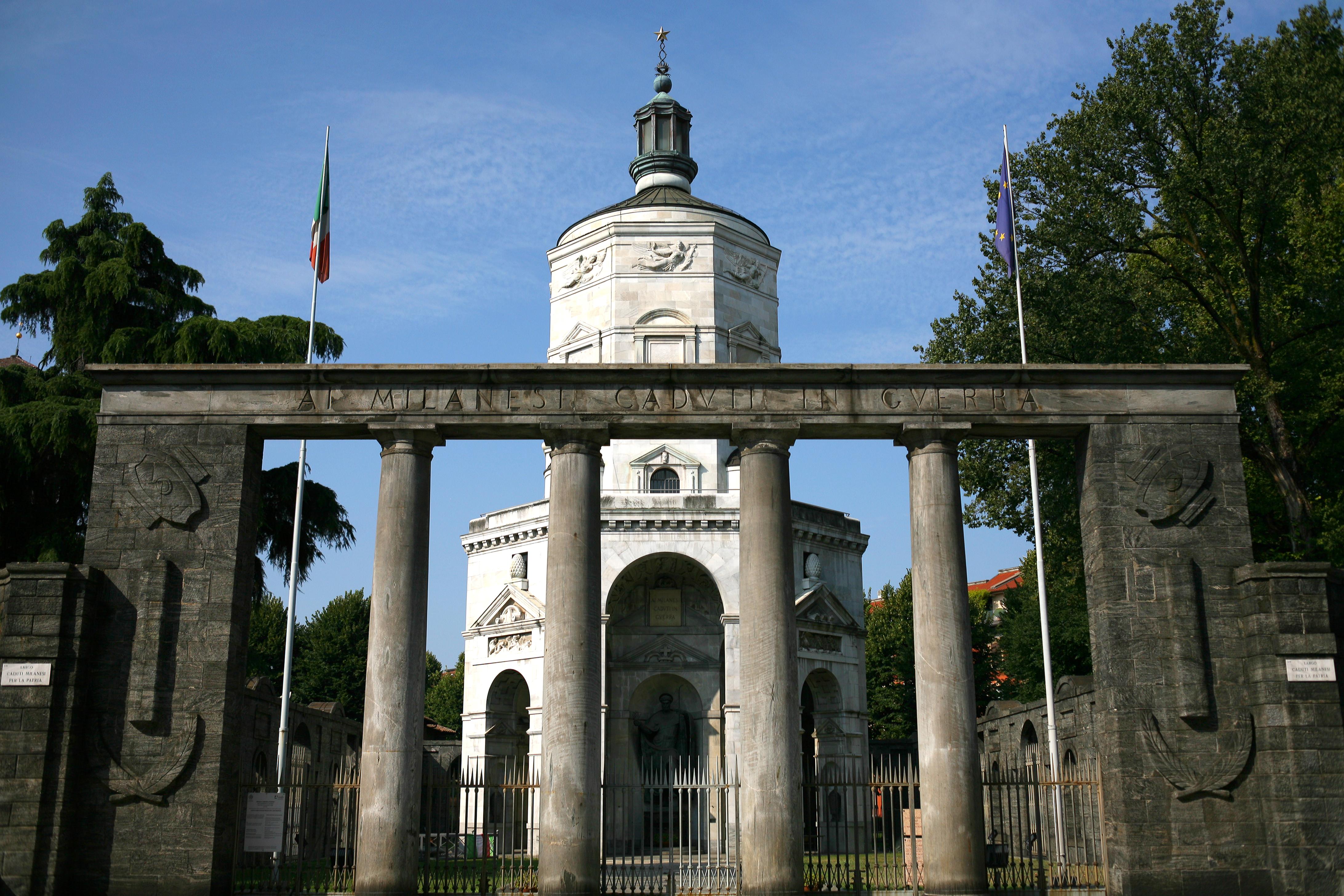Tempio della Vittoria (Milano) - Wikipedia