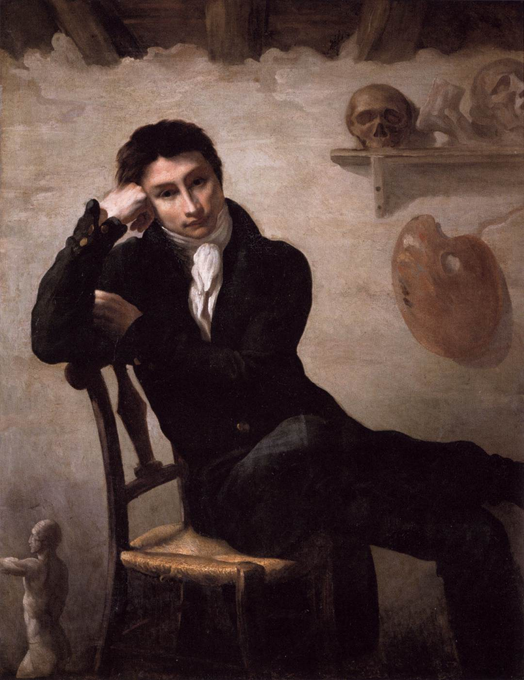 Image result for gericault portrait of an artist in his studio