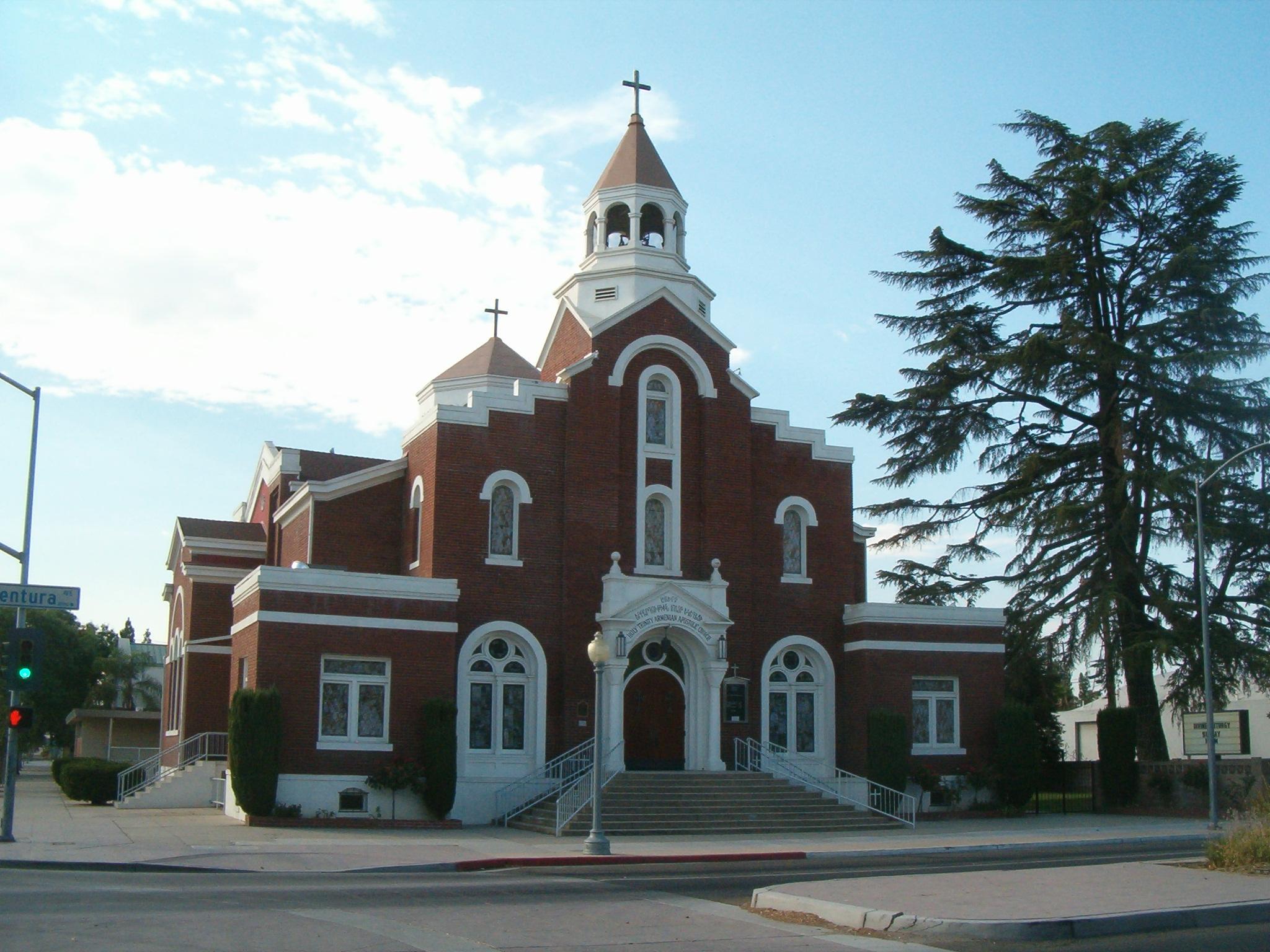 Filethe Holy Trinity Armenian Apostolic Church In Fresno