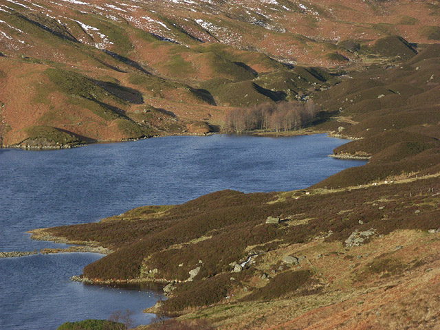 The head of Loch Turret - geograph.org.uk - 325004