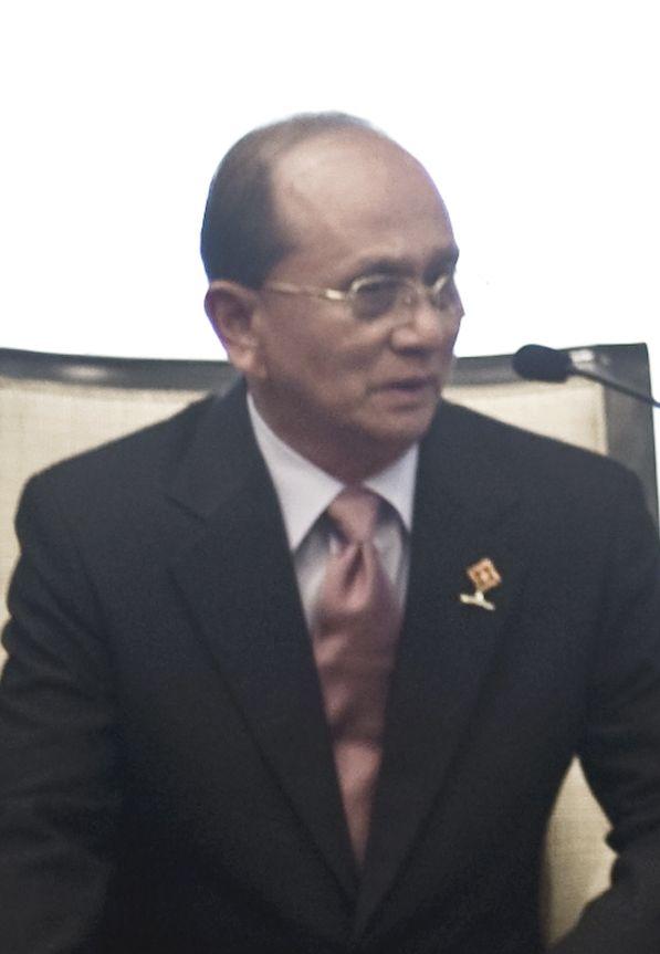 緬甸新任總統吳登盛(圖片轉載自維基百科)