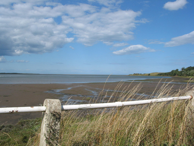 Tide going out, Budle Bay - geograph.org.uk - 415220