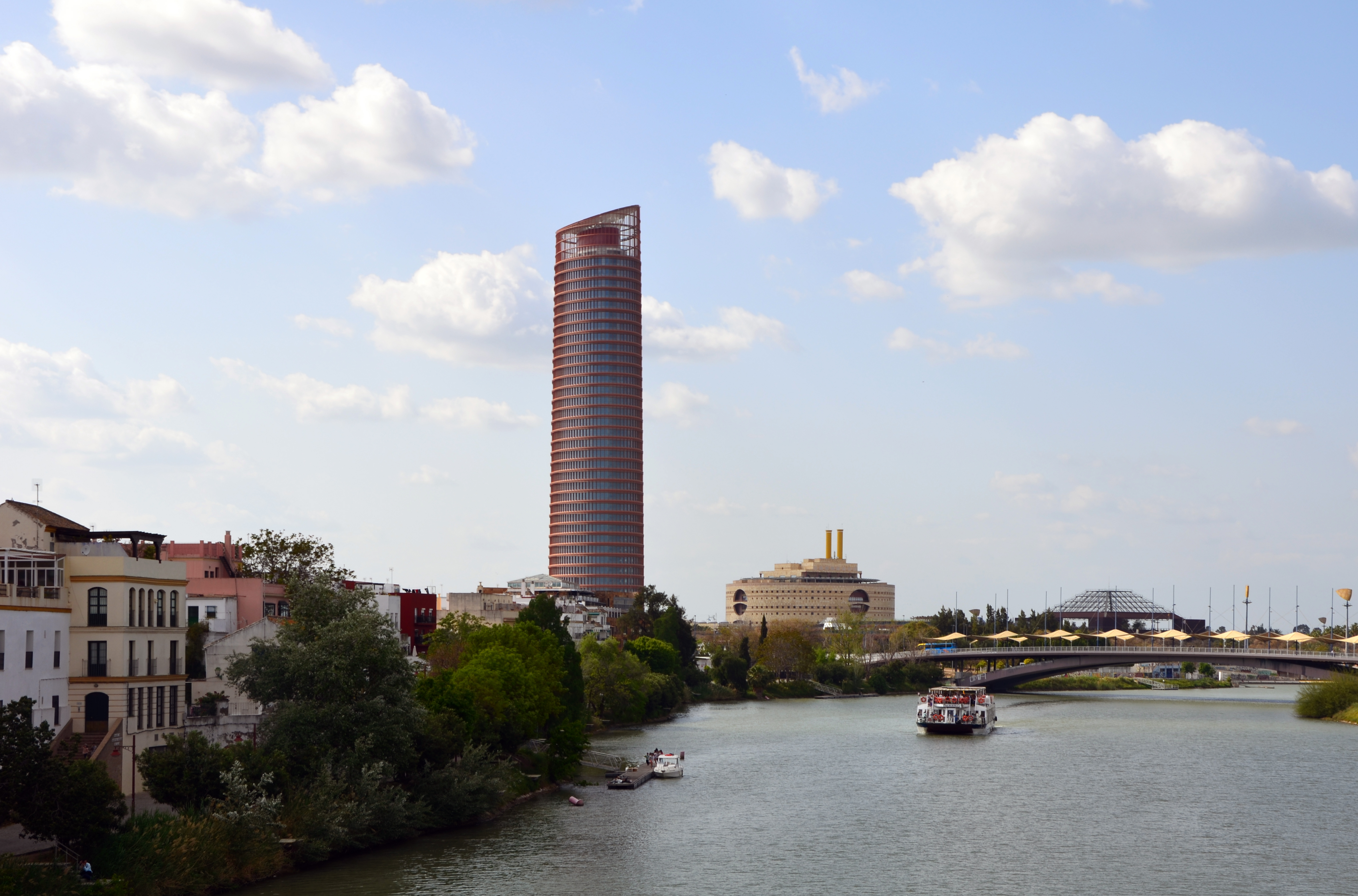 sevilla tower seville andalusia - Biggest House In The World 2014