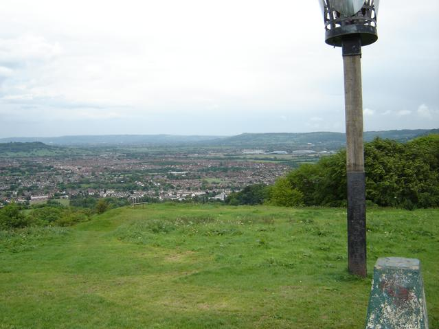 Trigpoint, Robinswood Hill, Gloucestershire - geograph.org.uk - 30916