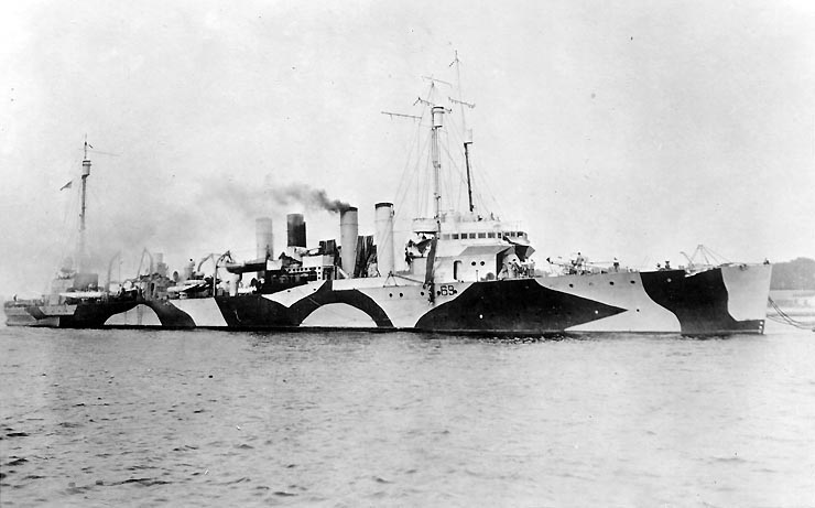 USS Caldwell 1919