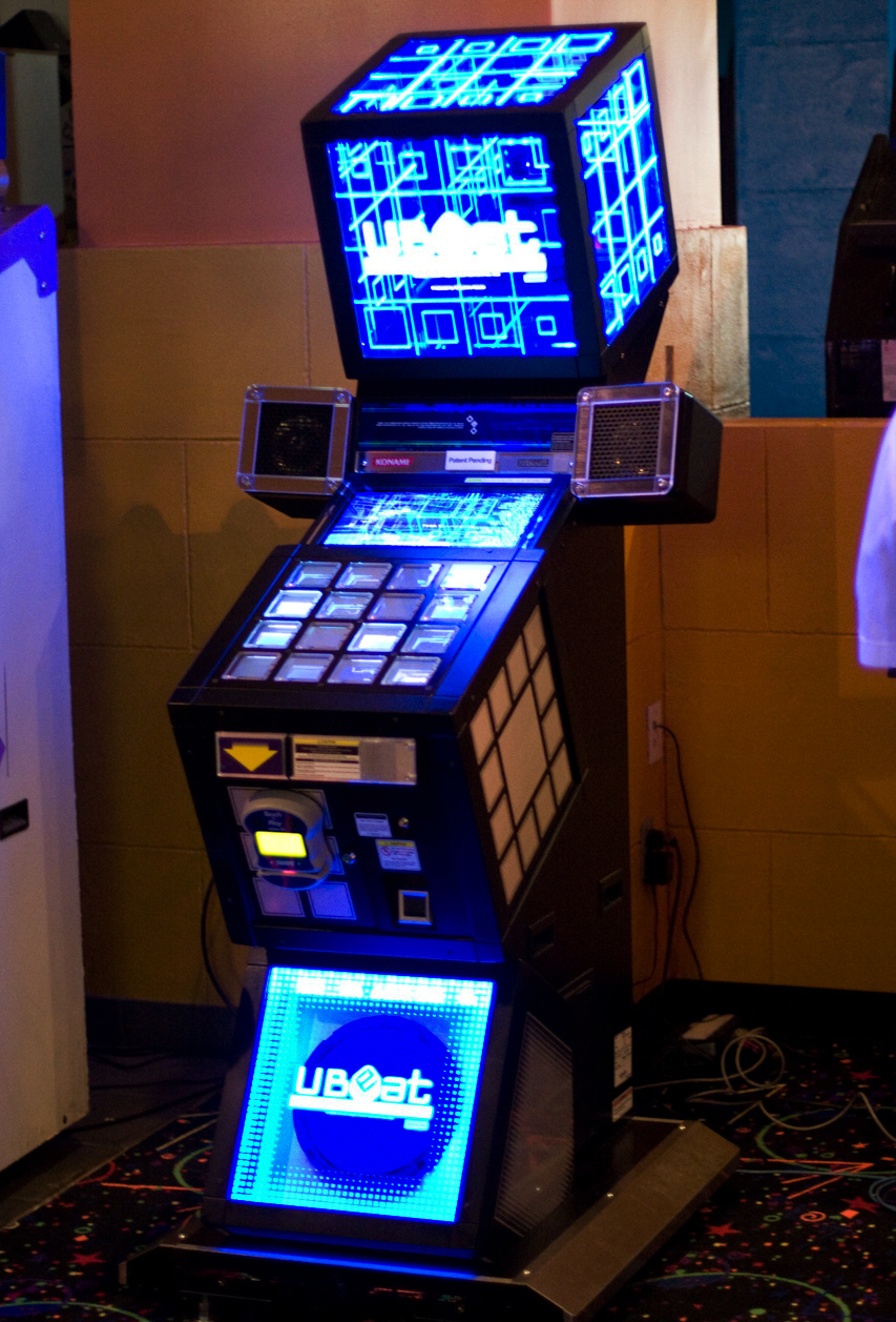 [GENERAL](Arcade) Jubeat  Ubeat_irvine_location_test_machine