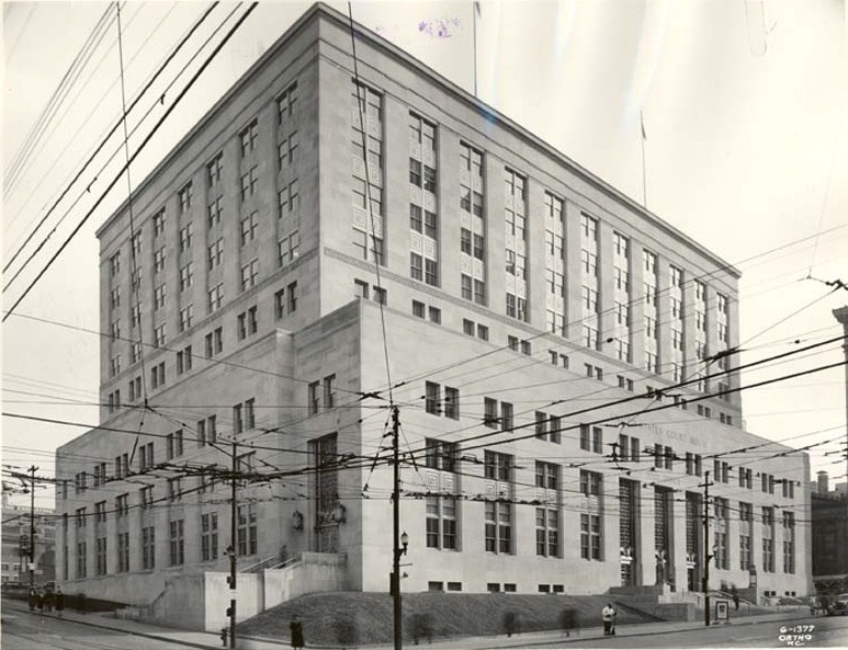 File United States Court House and Post fice 1939 Kansas City