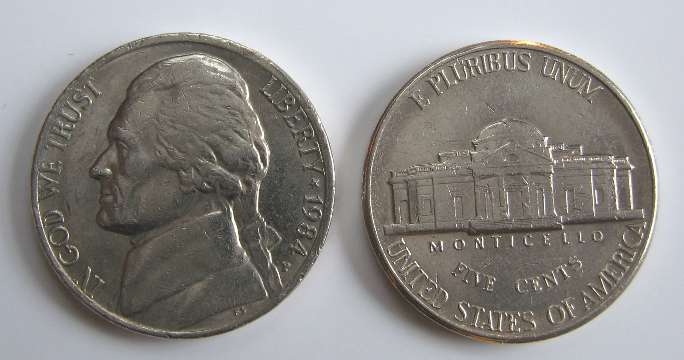 In Law Unit File Usa One Nickel 1984 Jpg Wikimedia Commons