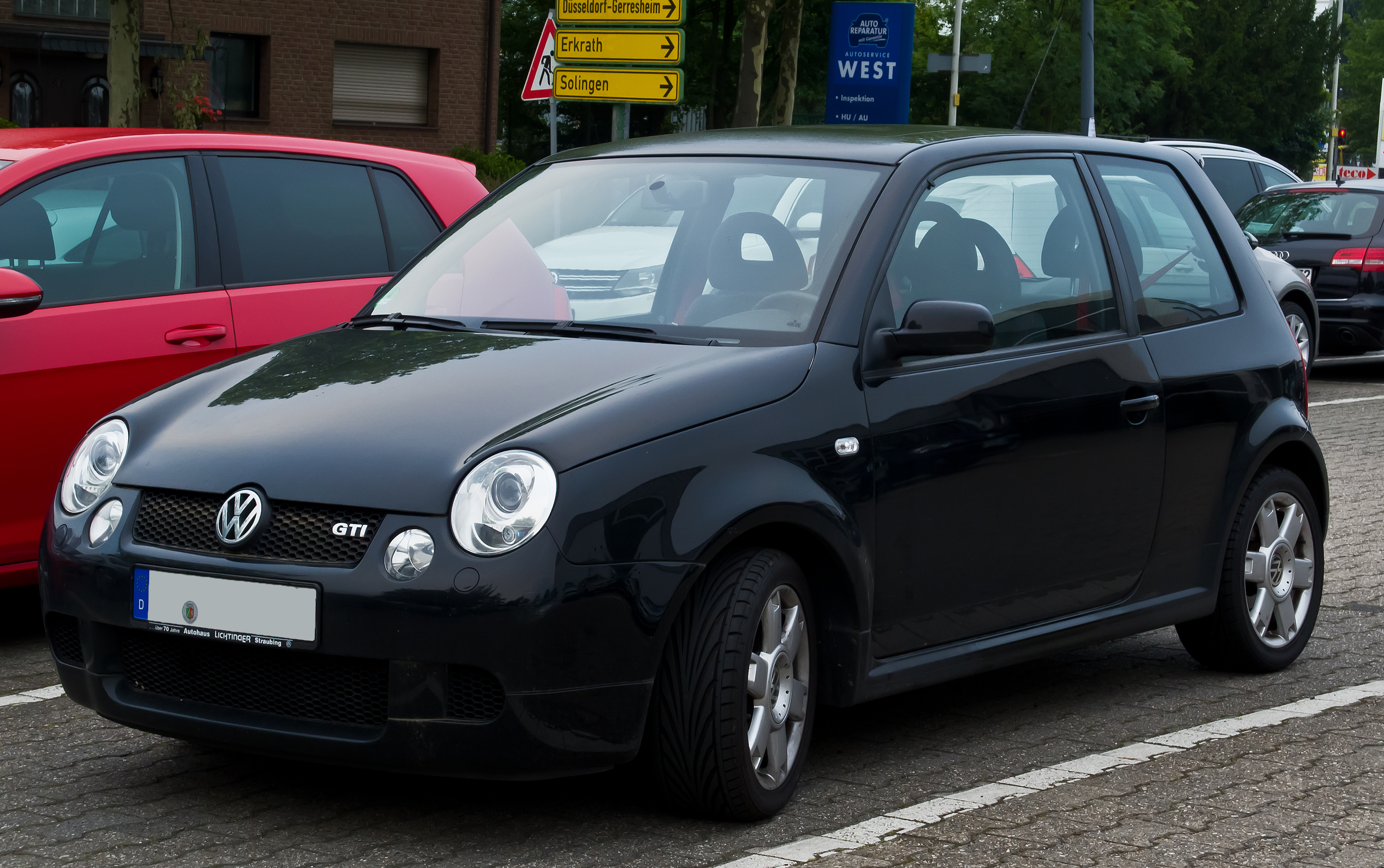 file vw lupo gti frontansicht 15 juni 2014 wikimedia commons. Black Bedroom Furniture Sets. Home Design Ideas