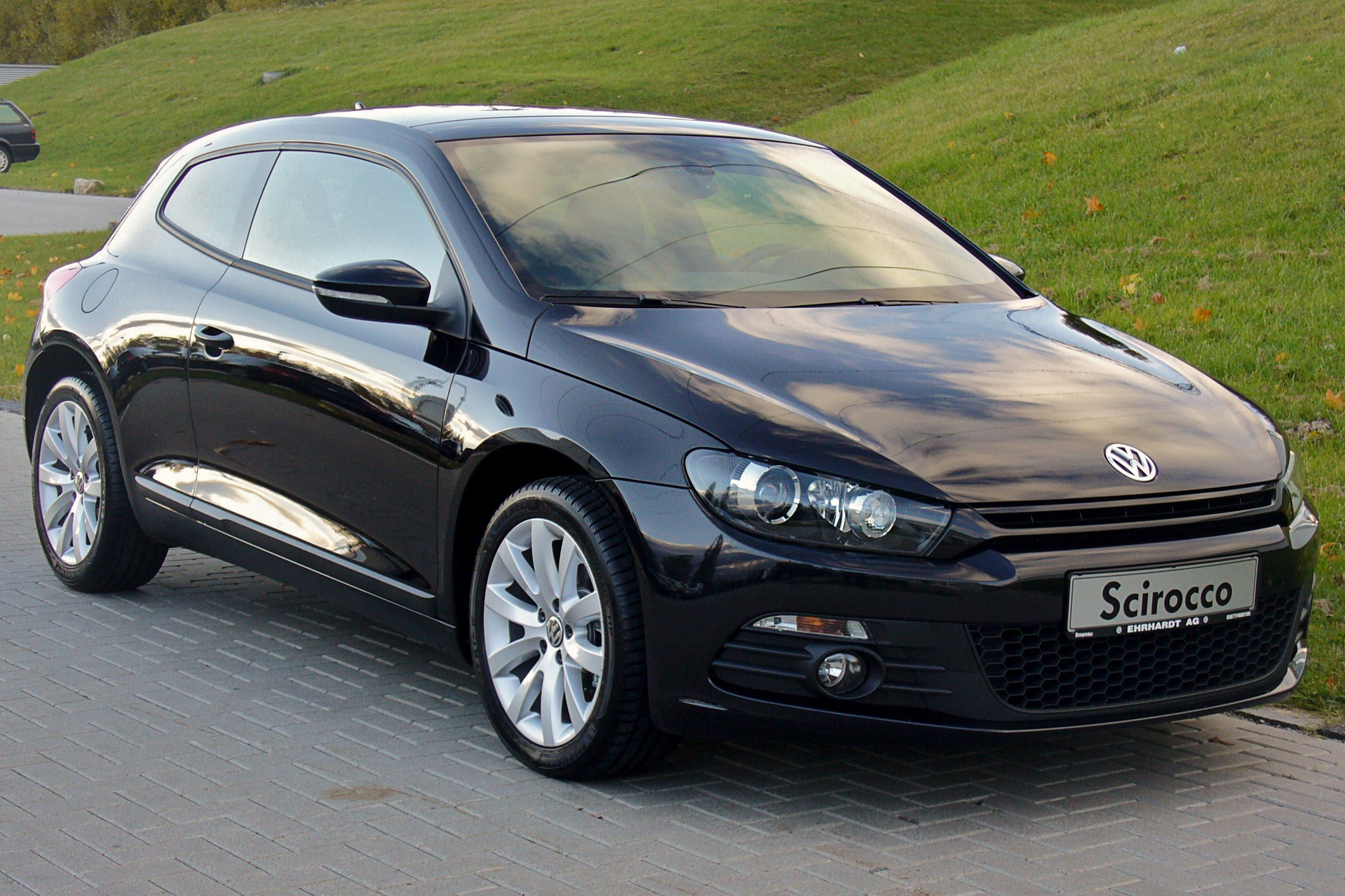 file vw scirocco iii 1 4 tsi dsg team deep black jpg wikimedia commons. Black Bedroom Furniture Sets. Home Design Ideas