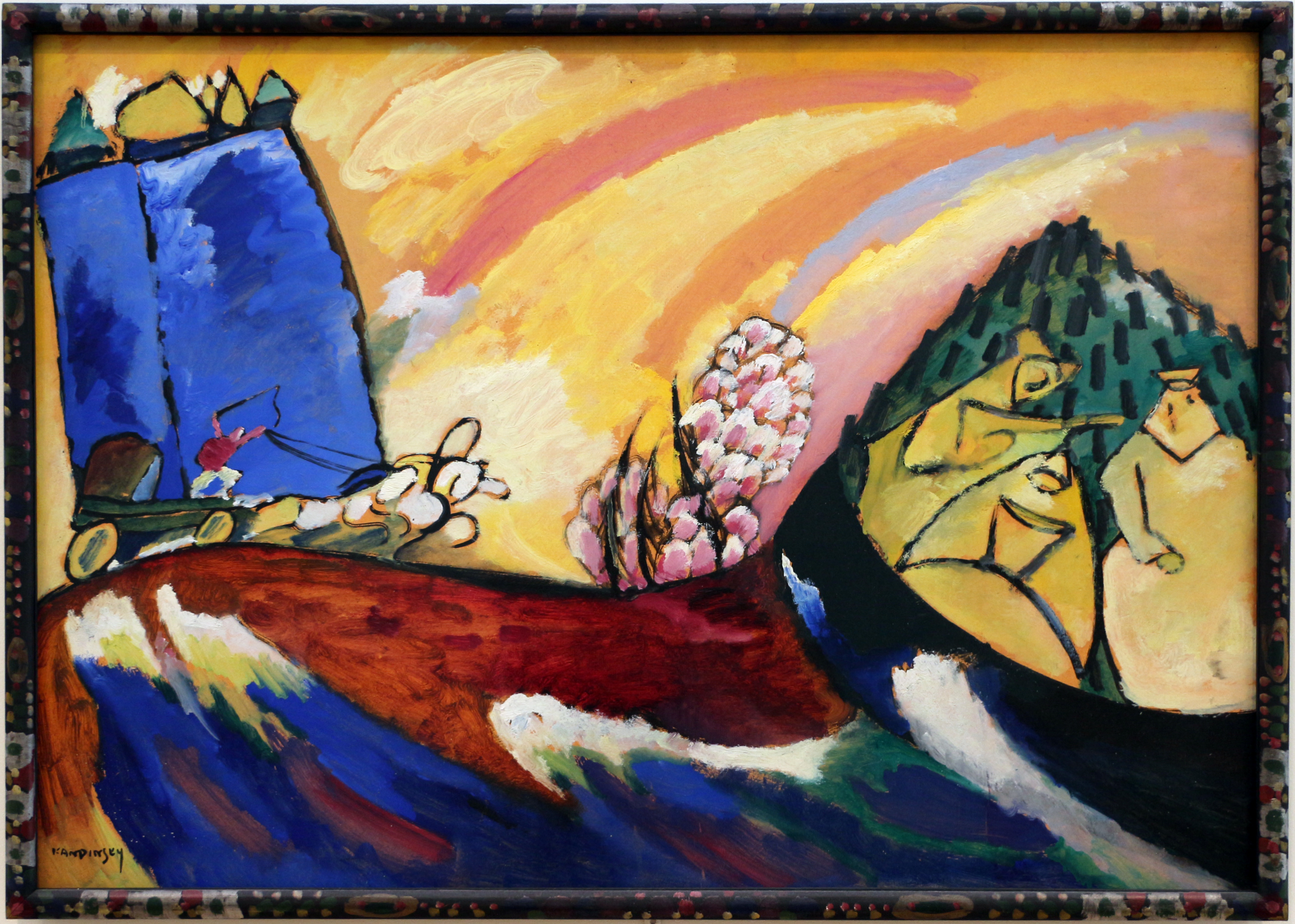 Lot - Wassily Kandinsky - Composition 1911 I