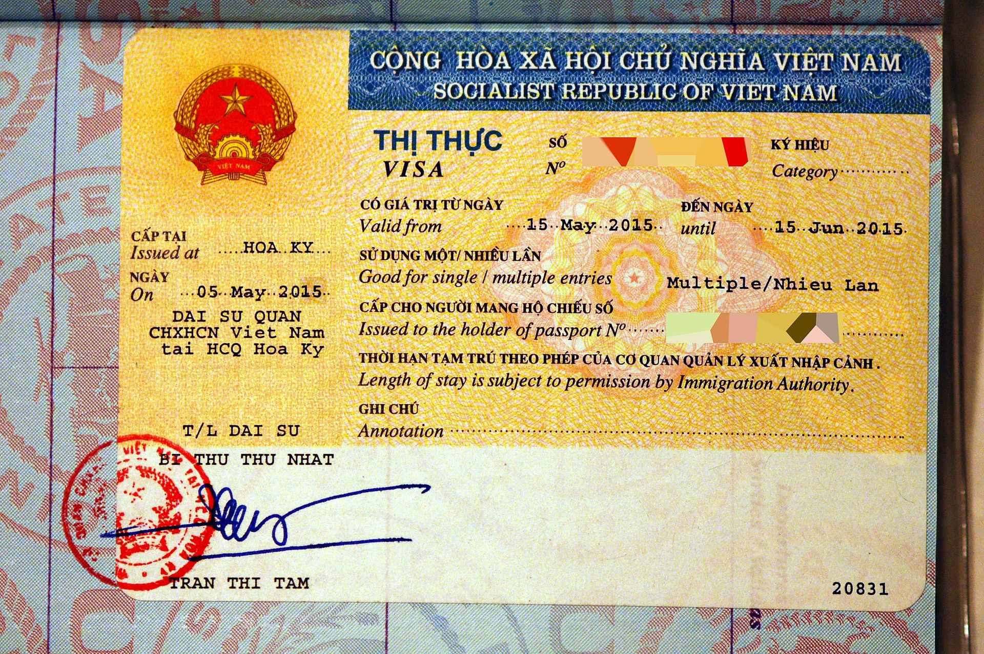 Visa policy of Vietnam